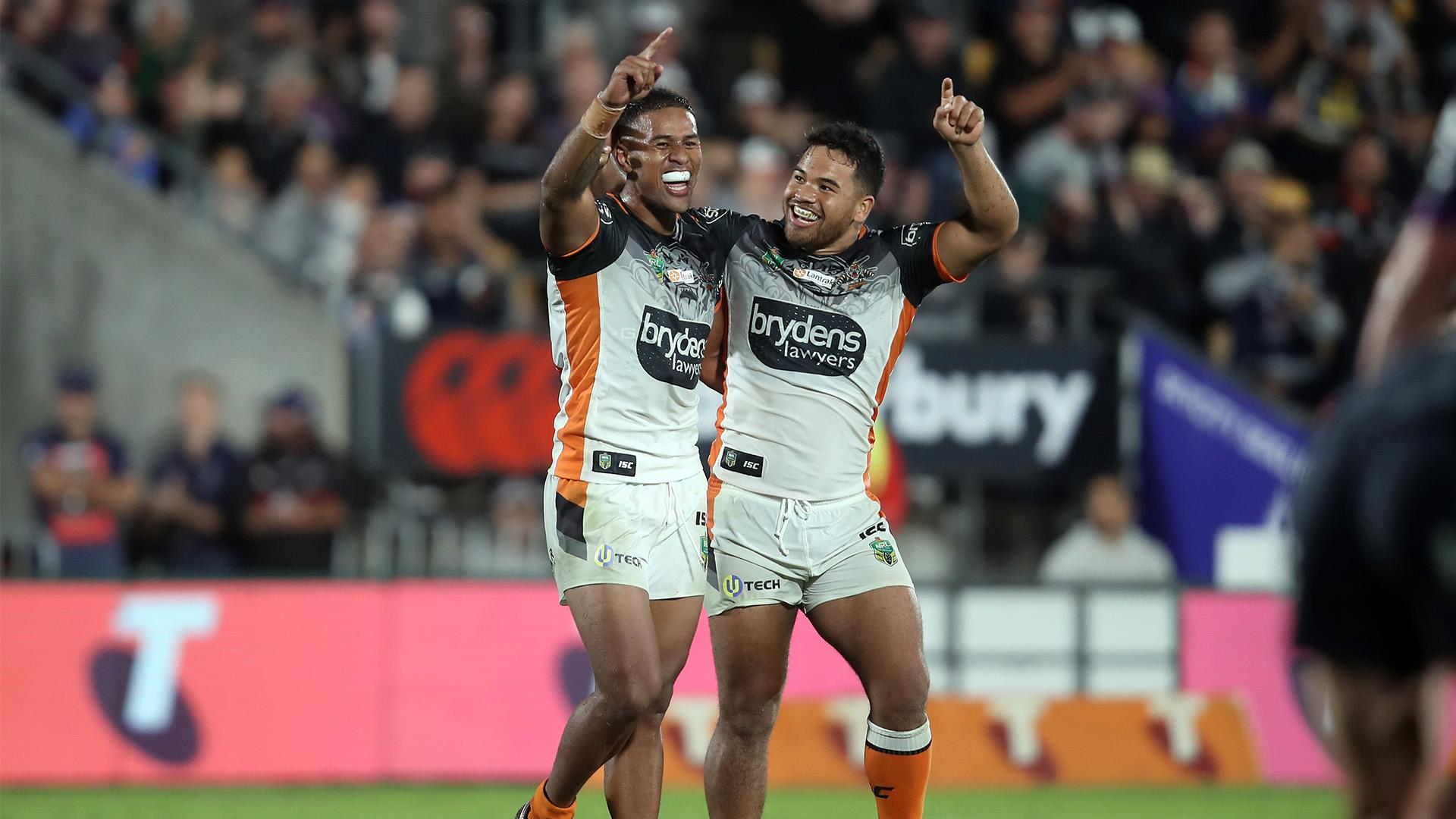 Extended highlights: Wests Tigers v Storm