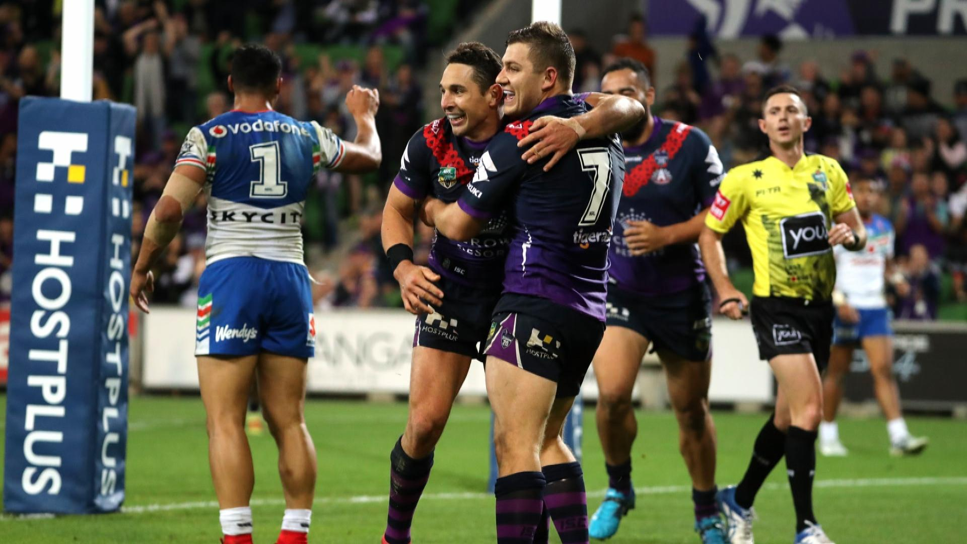 Extended highlights: Storm v Warriors - Round 8, 2018