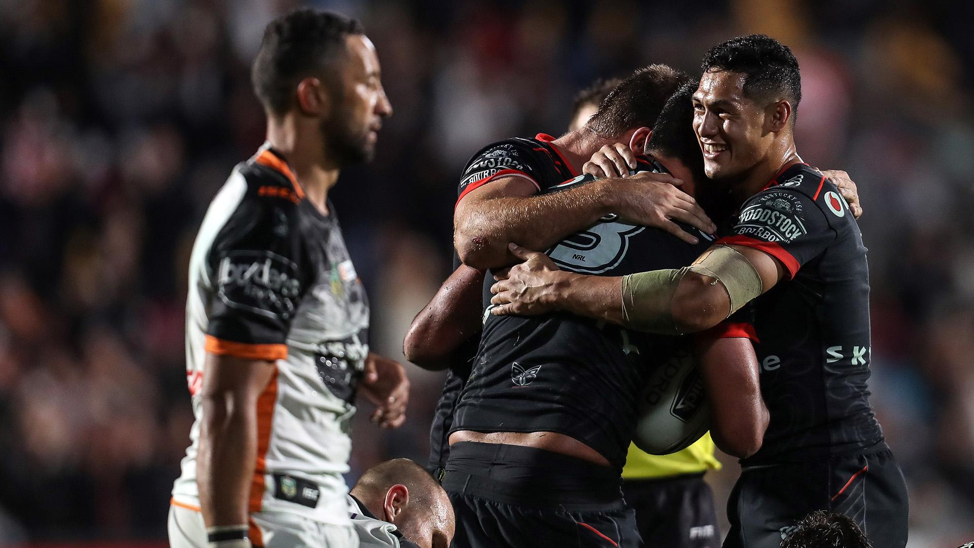 Extended highlights: Warriors v Wests Tigers – Round 9, 2018