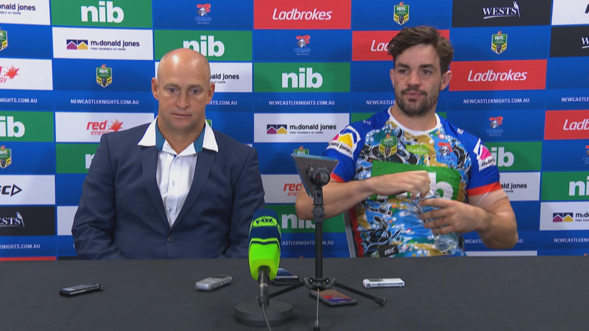 Knights press conference - Round 10