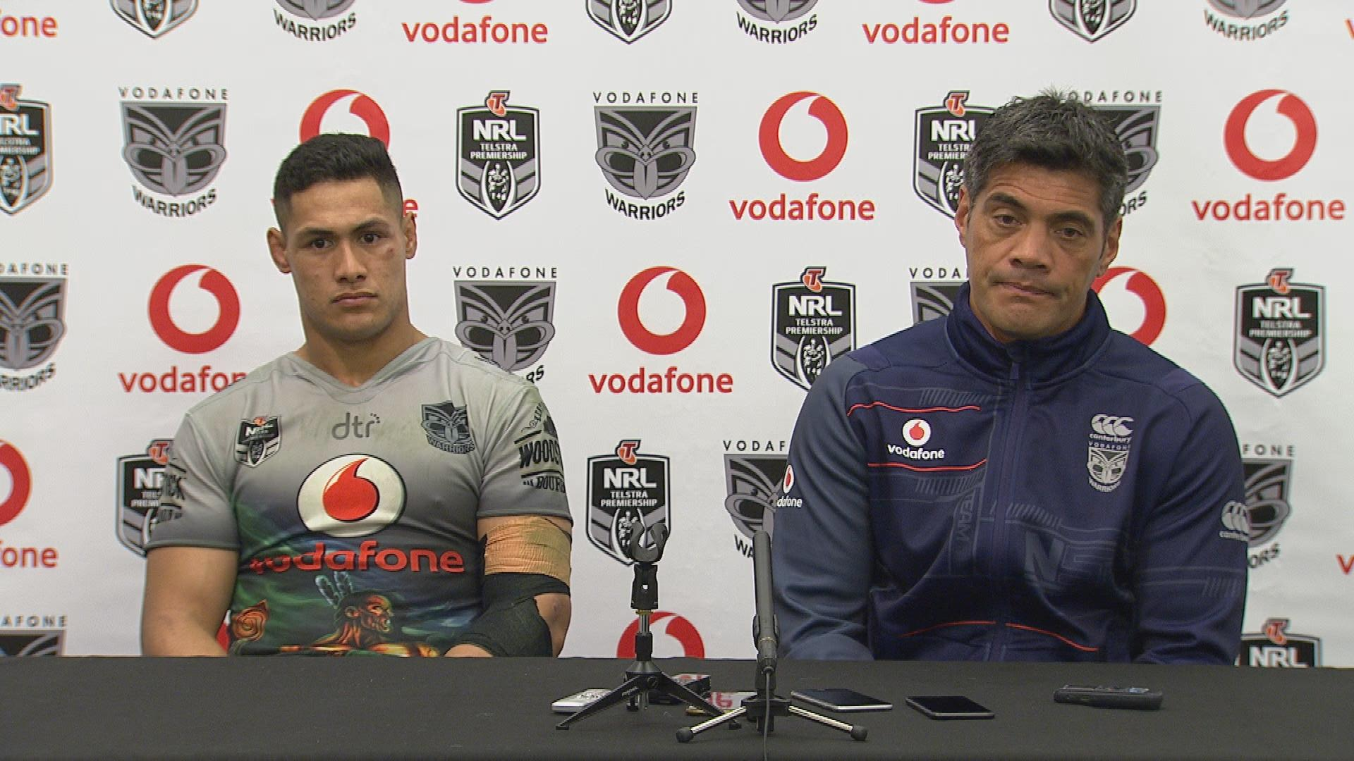 Warriors press conference – Round 10
