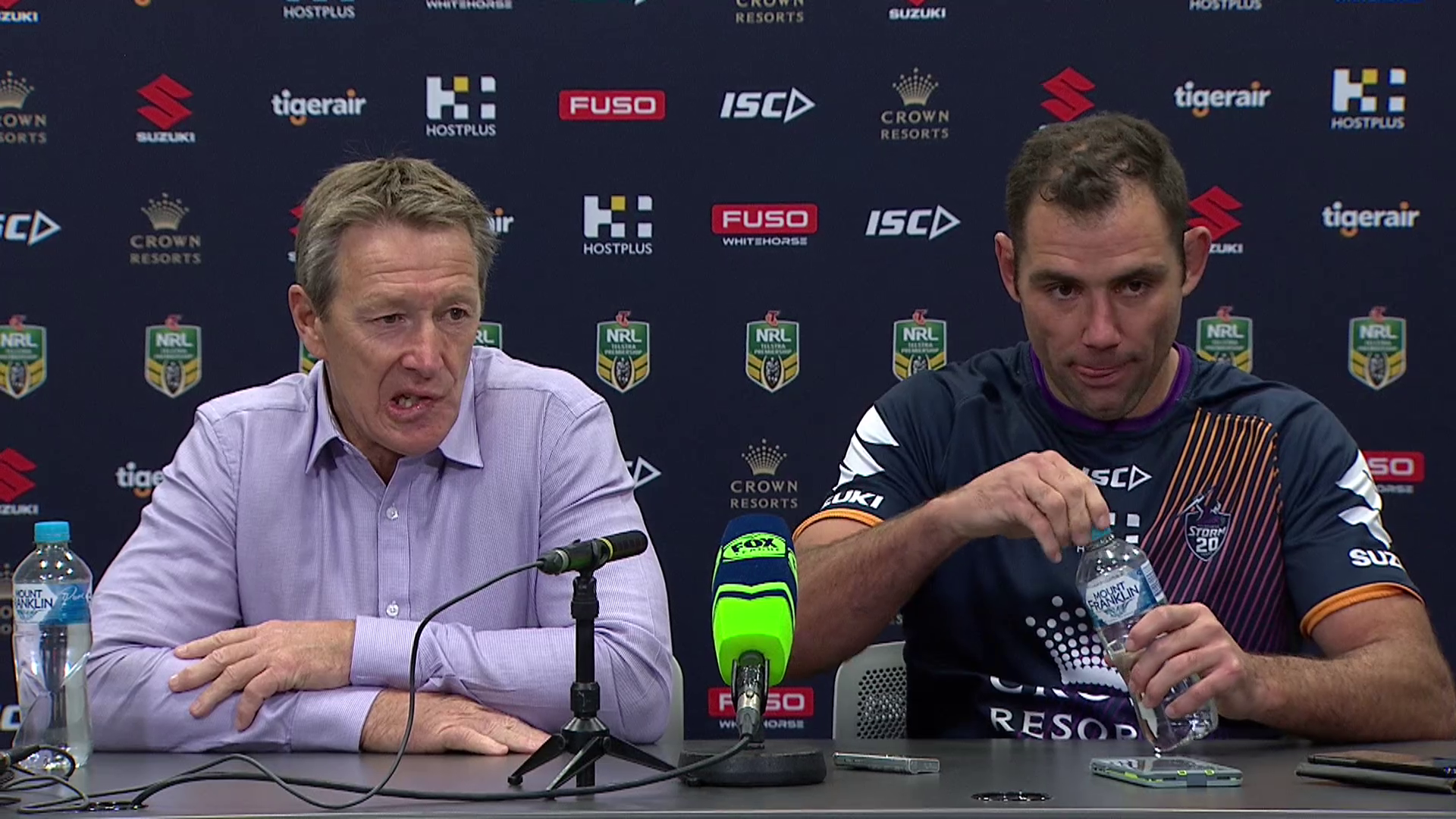 Storm press conference – Round 10