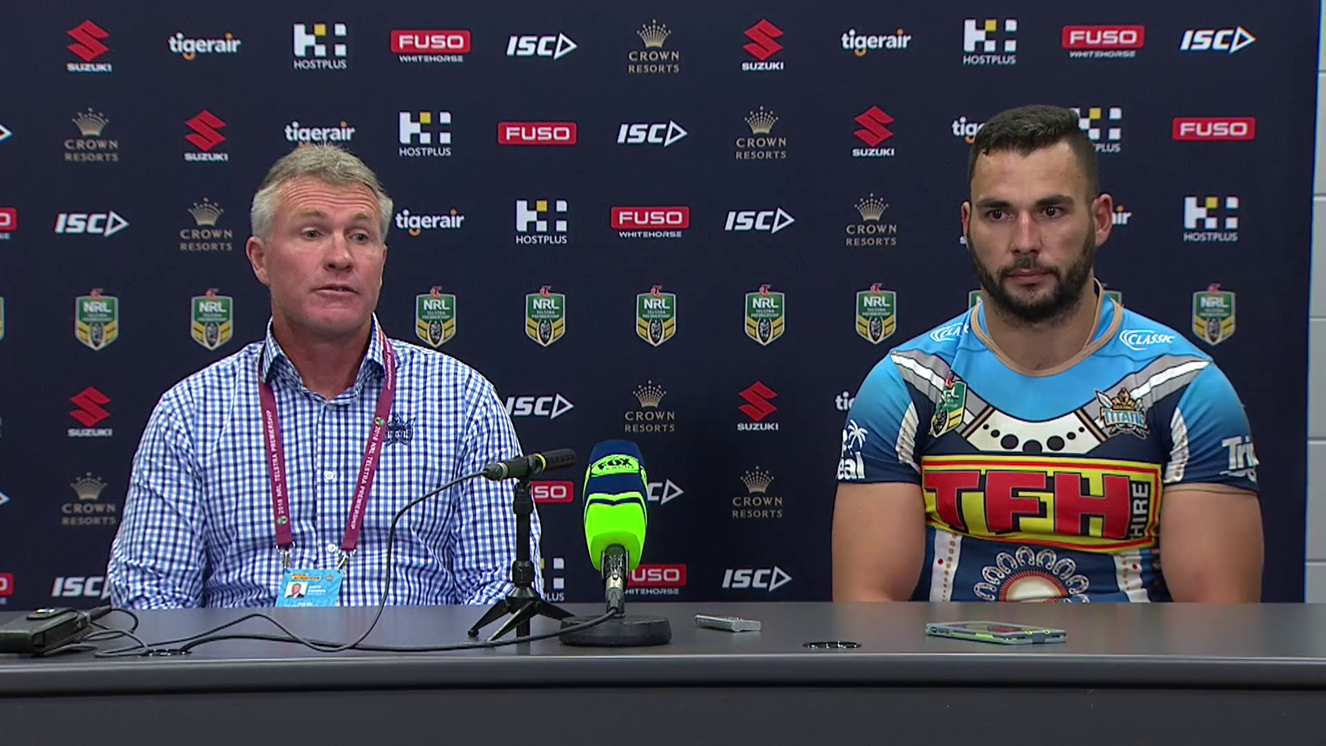 Titans press conference – Round 10