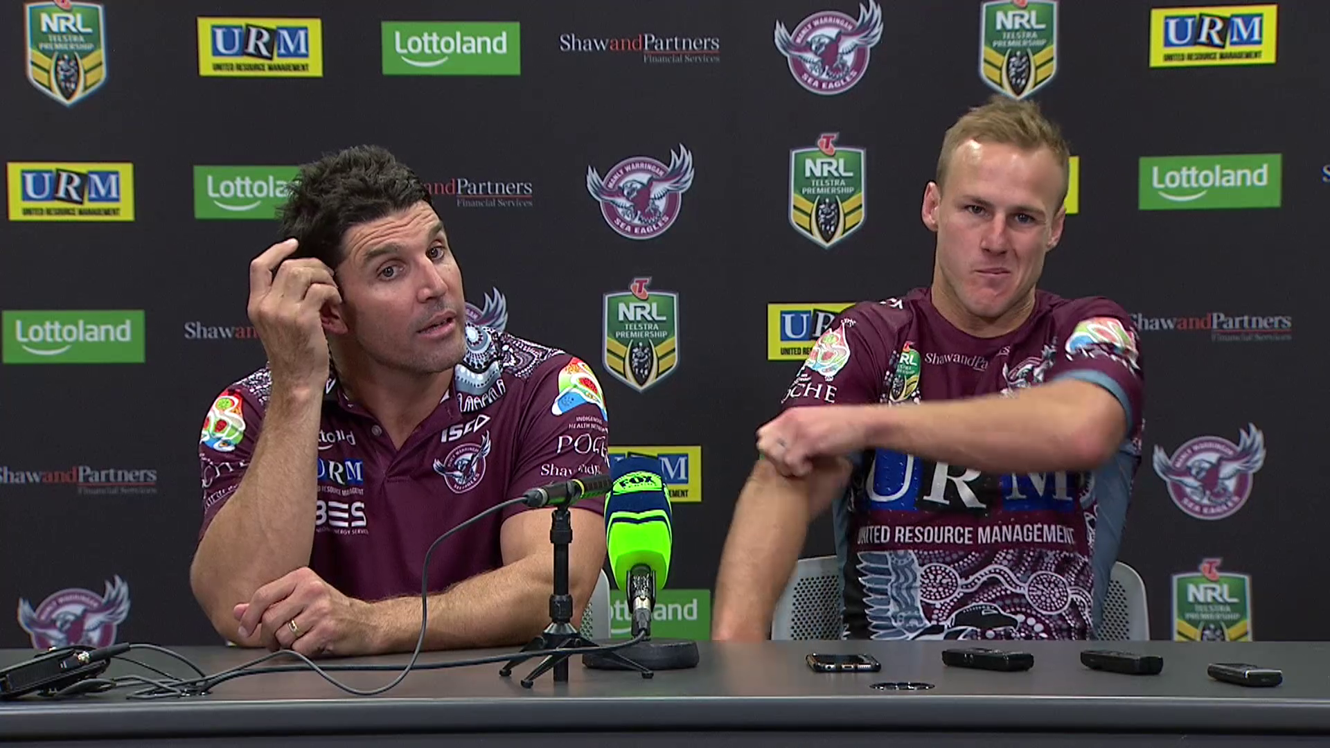 Sea Eagles press conference – Round 10