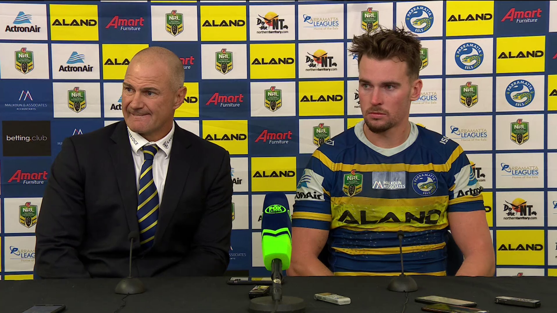 Eels press conference - Round 11