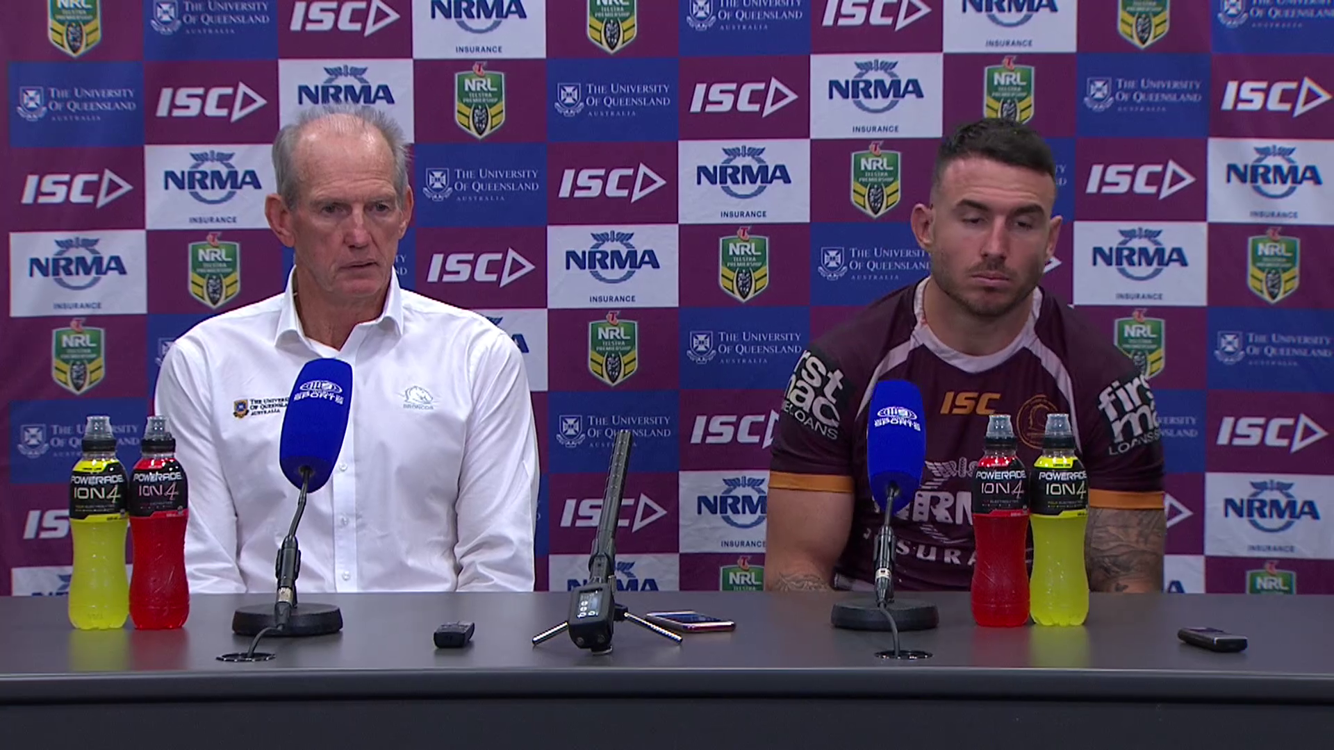 Broncos press conference - Round 11