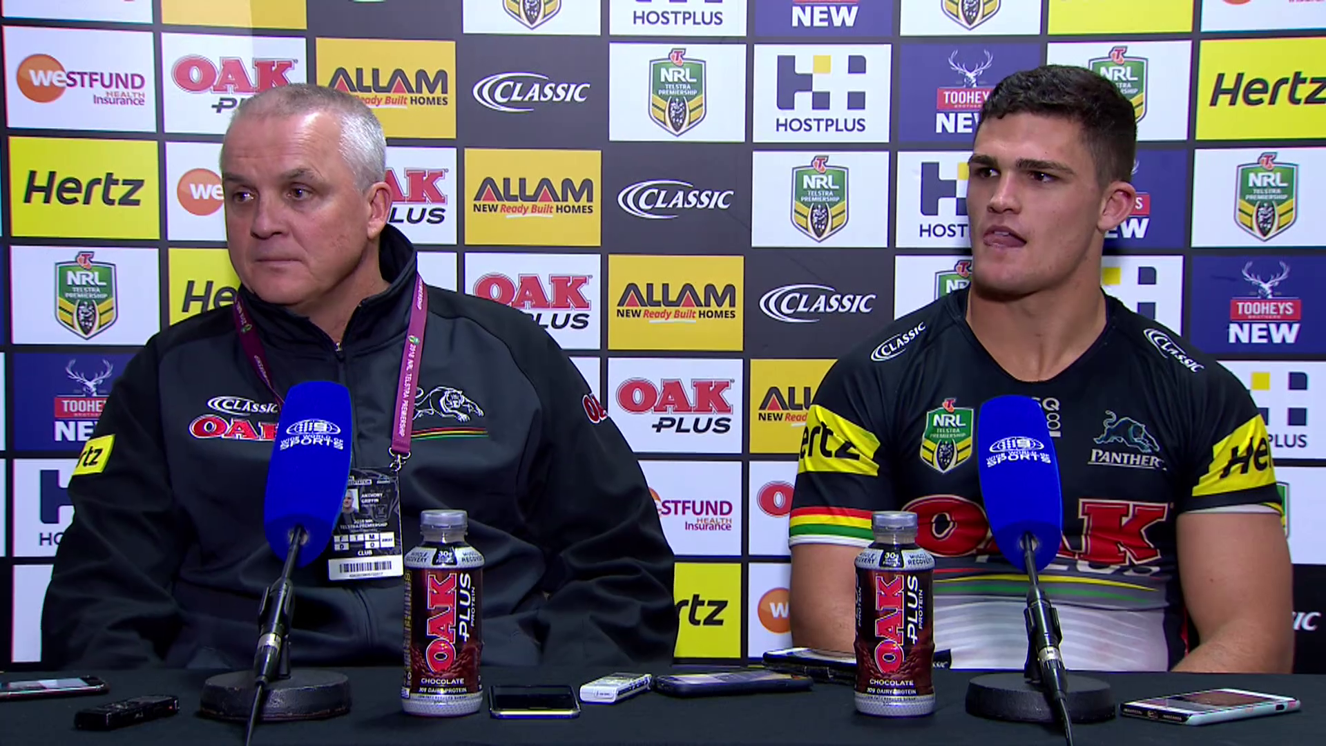 Panthers press conference - Round 11