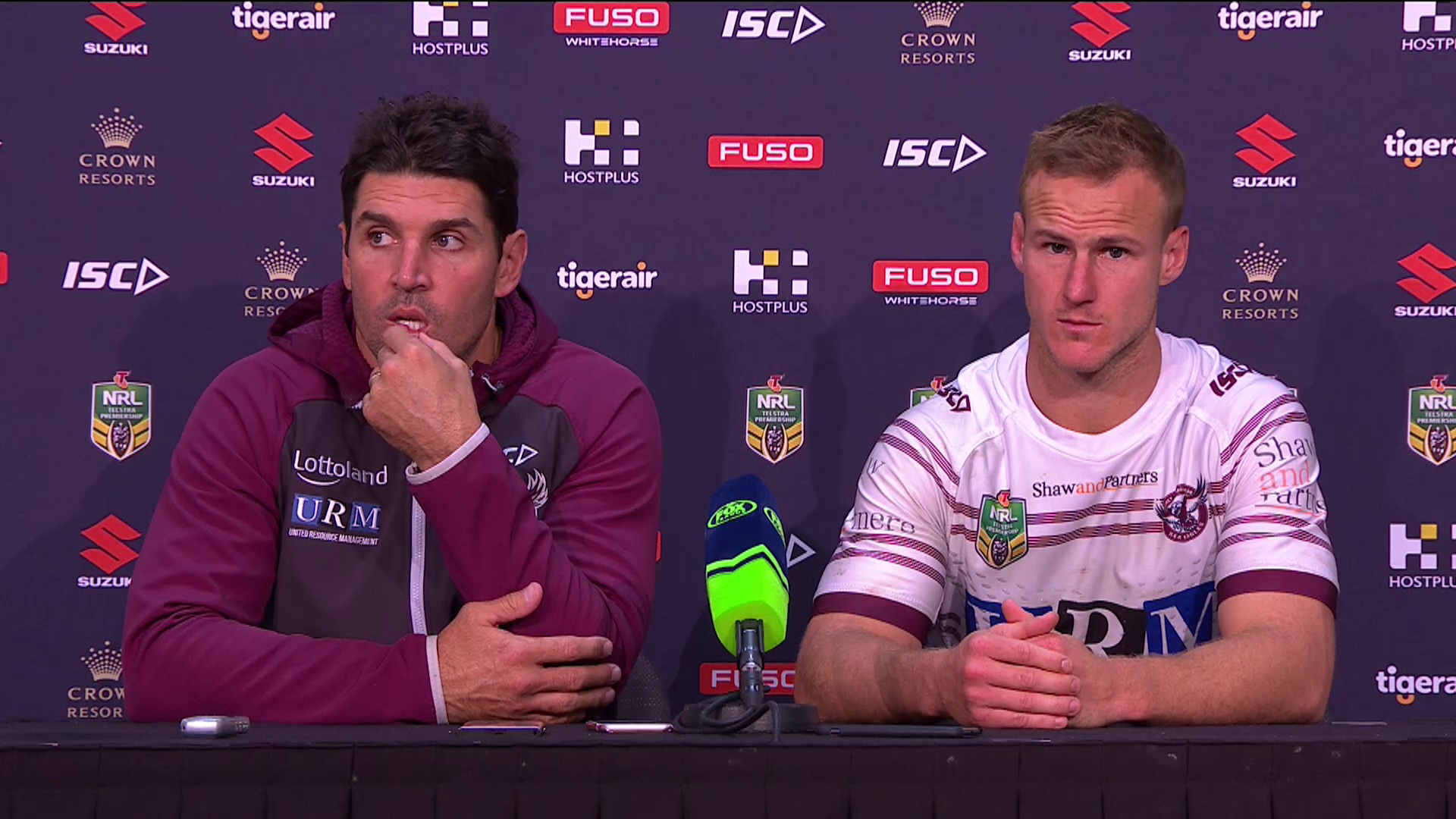 Sea Eagles press conference – Round 11
