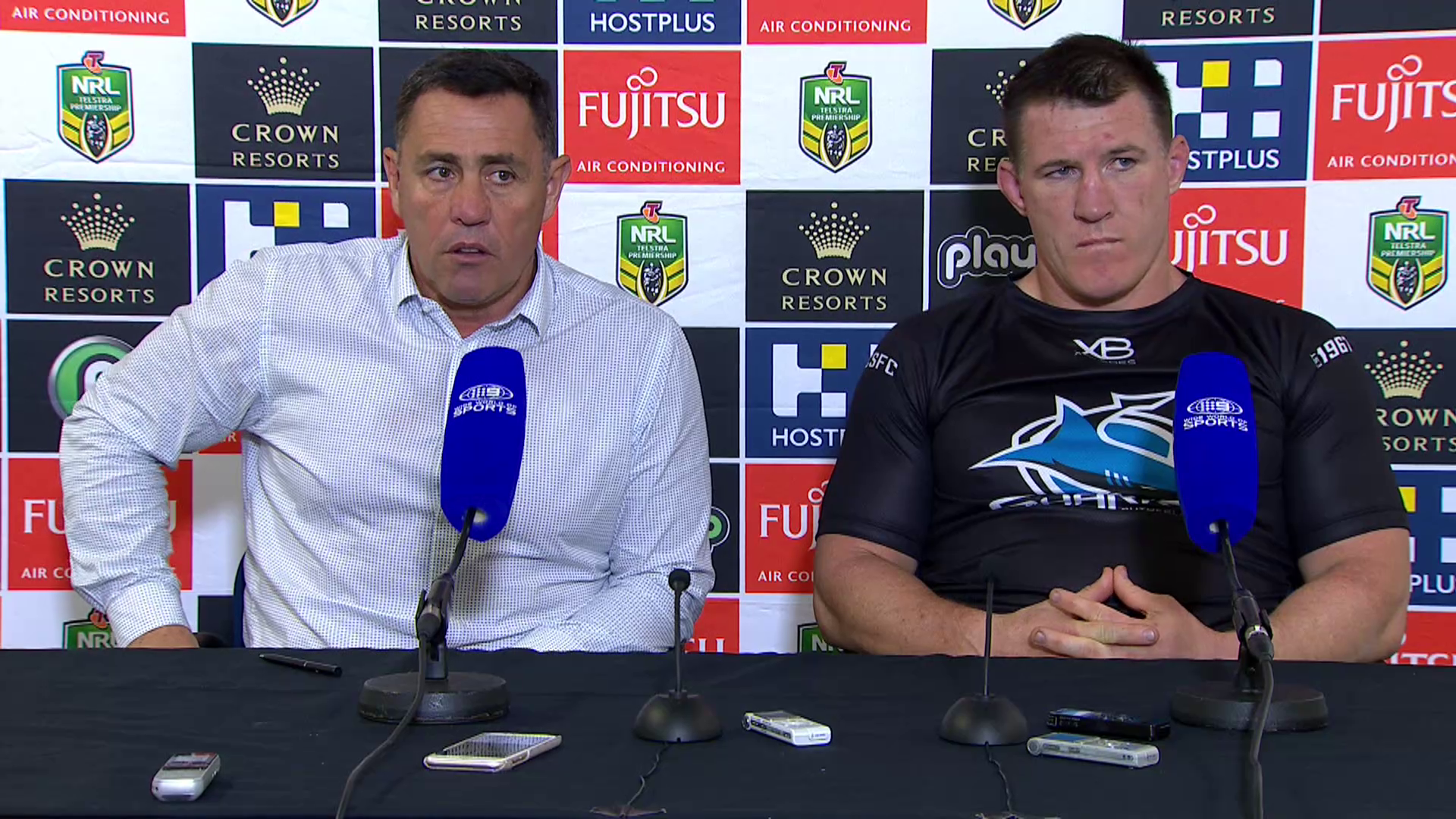 Sharks press conference - Round 13