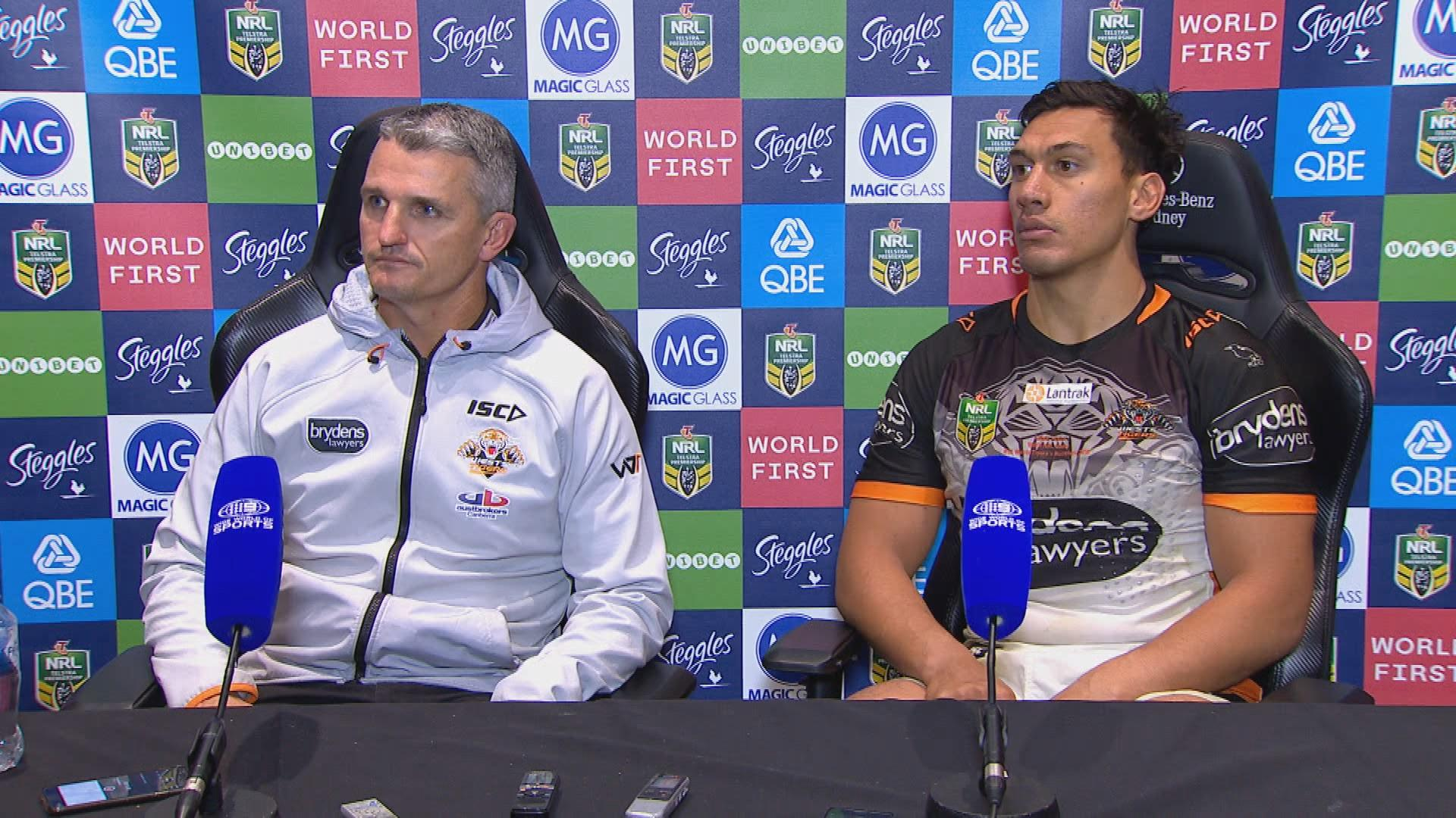 Wests Tigers press conference - Round 13