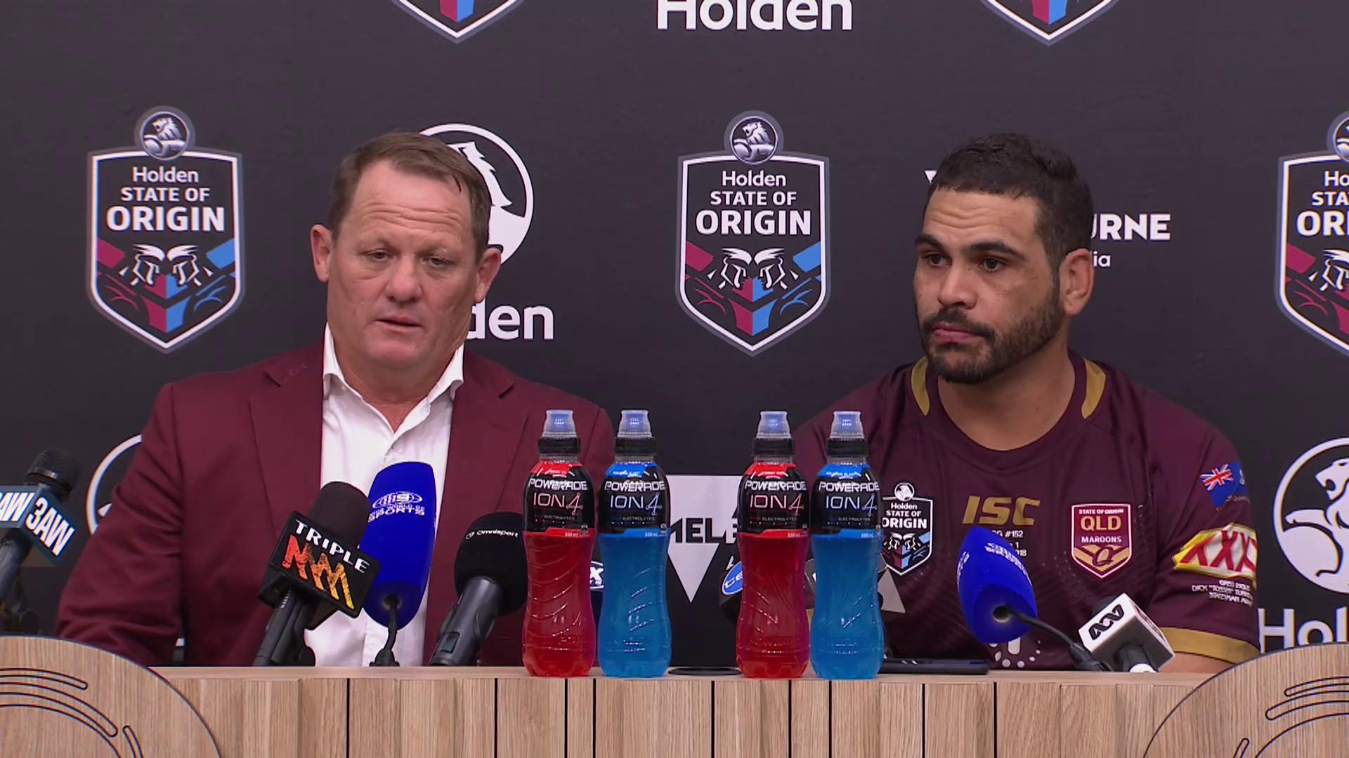 Queensland Press Conference: State of Origin - Game I