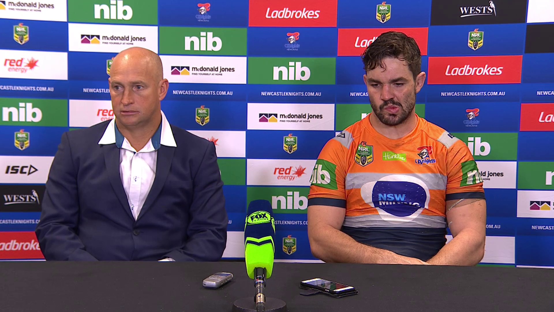 Knights press conference - Round 14