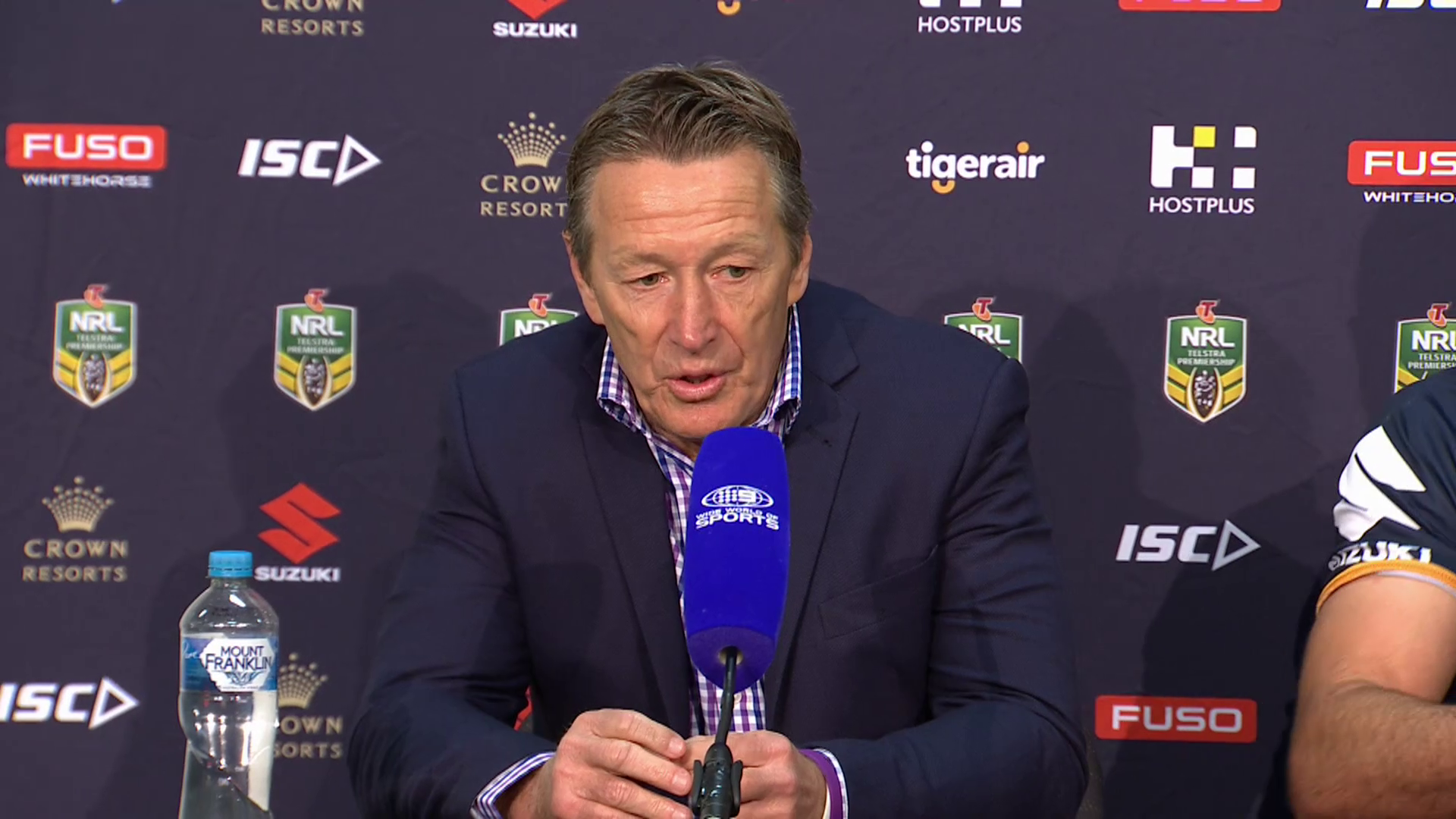 Storm press conference - Round 14