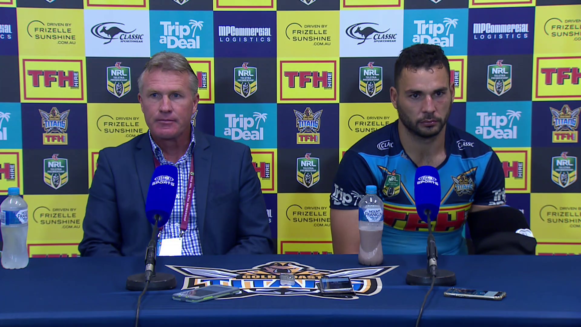 Titans press conference - Round 14
