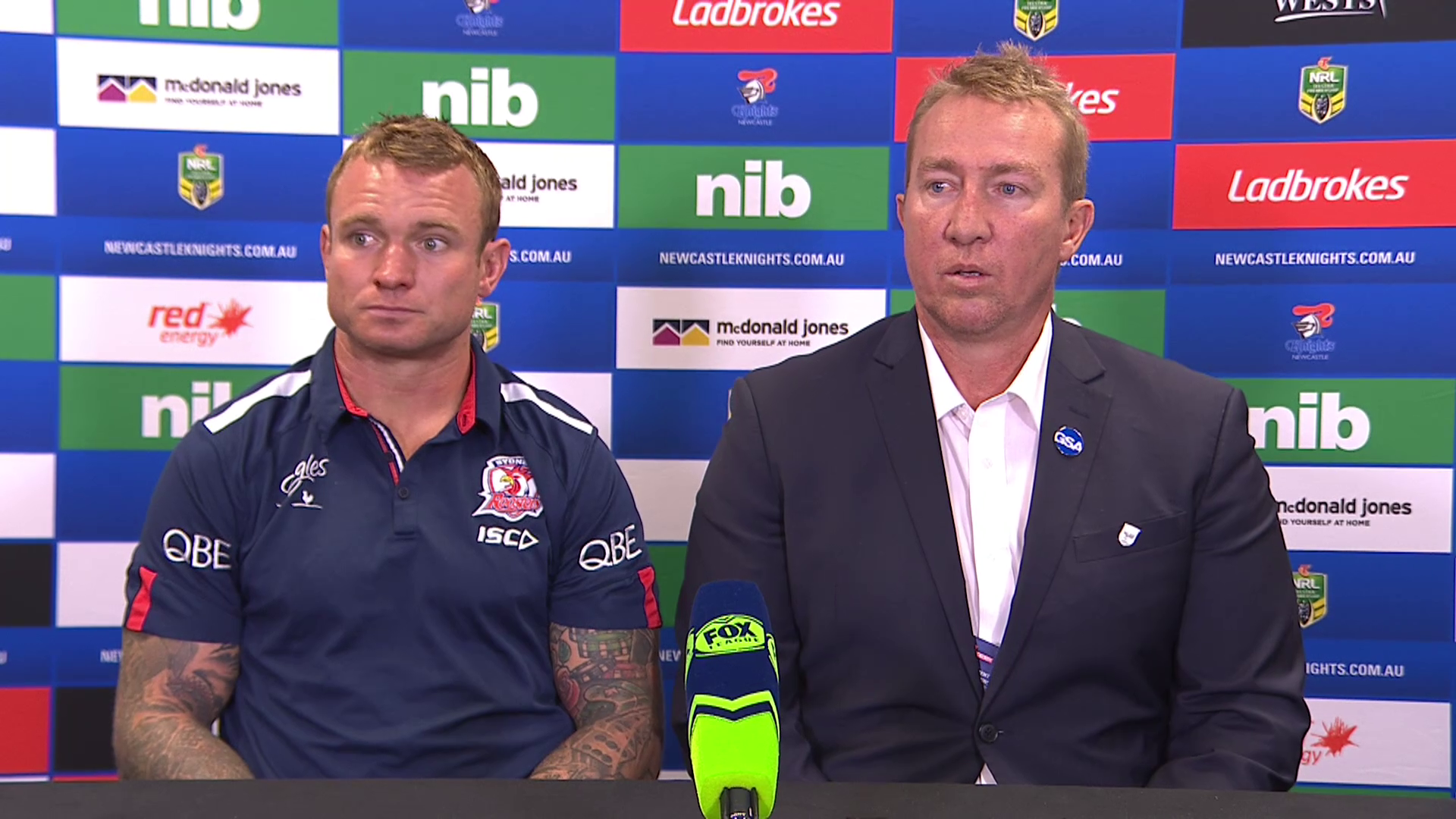 Roosters press conference - Round 14