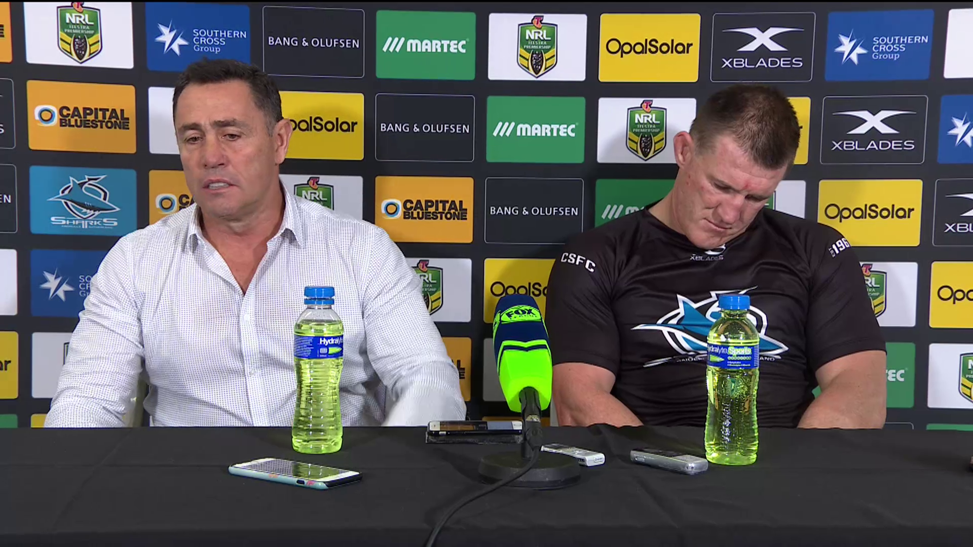 Sharks press conference - Round 14