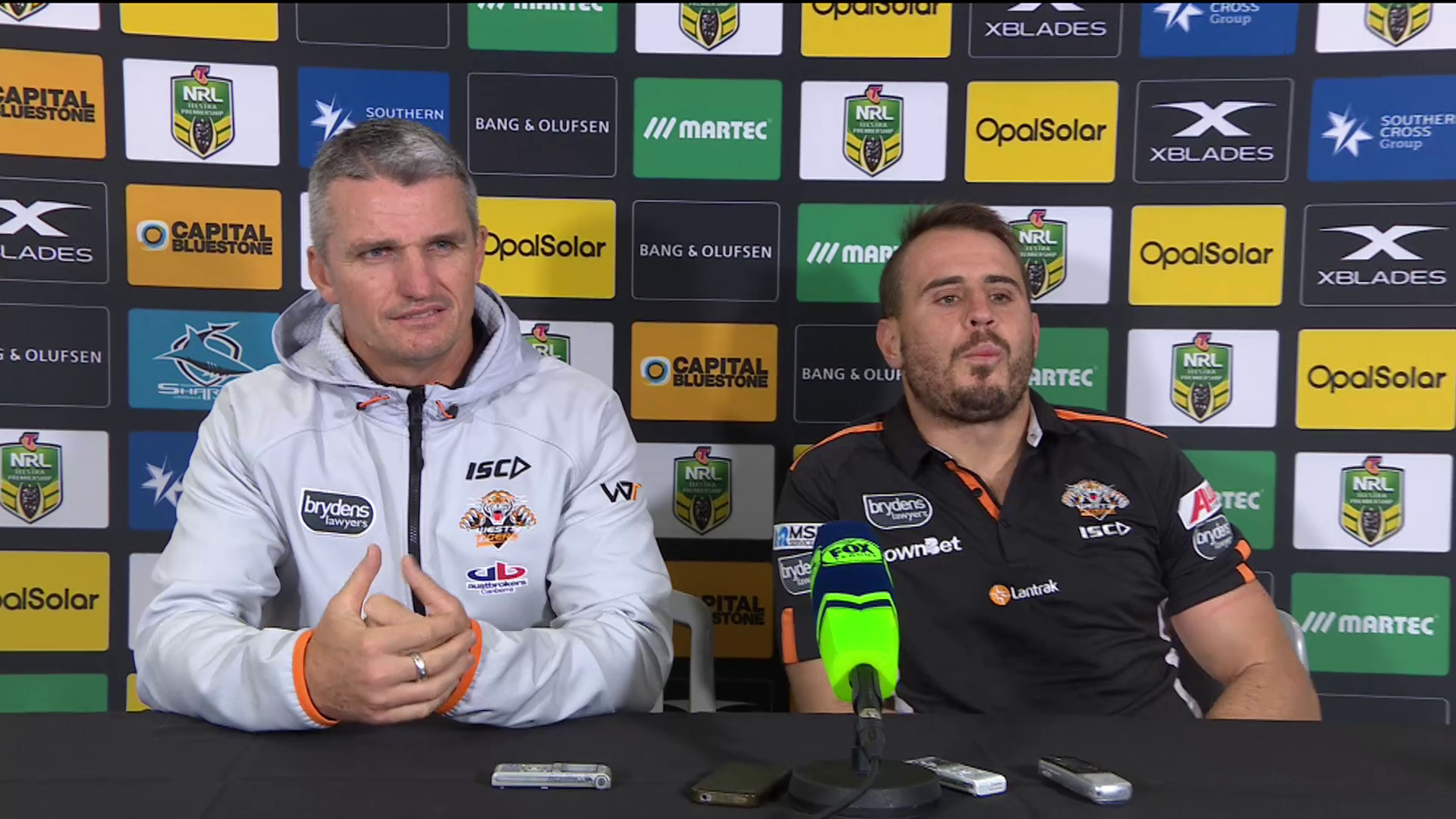 Wests Tigers press conference - Round 14