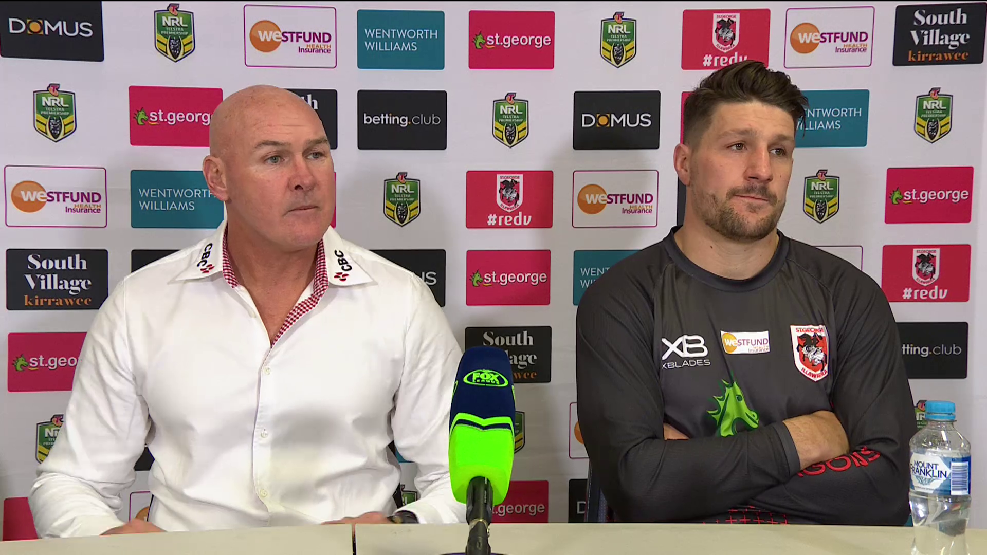 Dragons press conference – Round 15