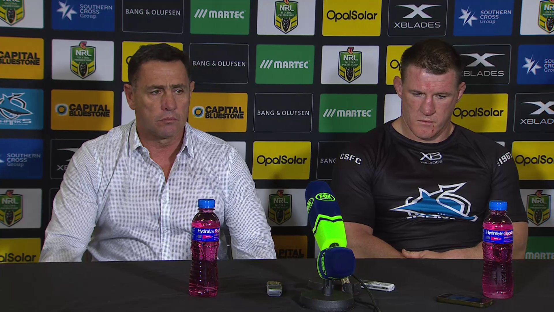 Sharks press conference – Round 15