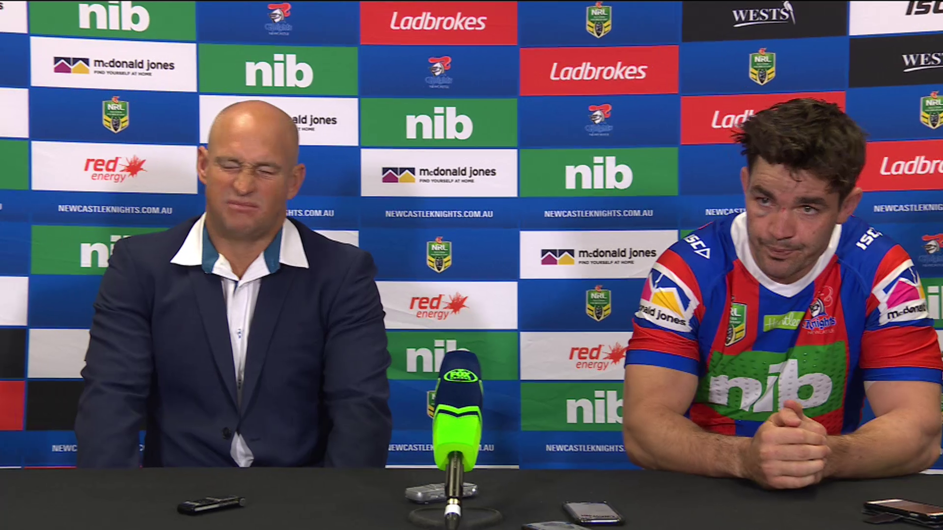 Knights press conference: Round 15, 2018