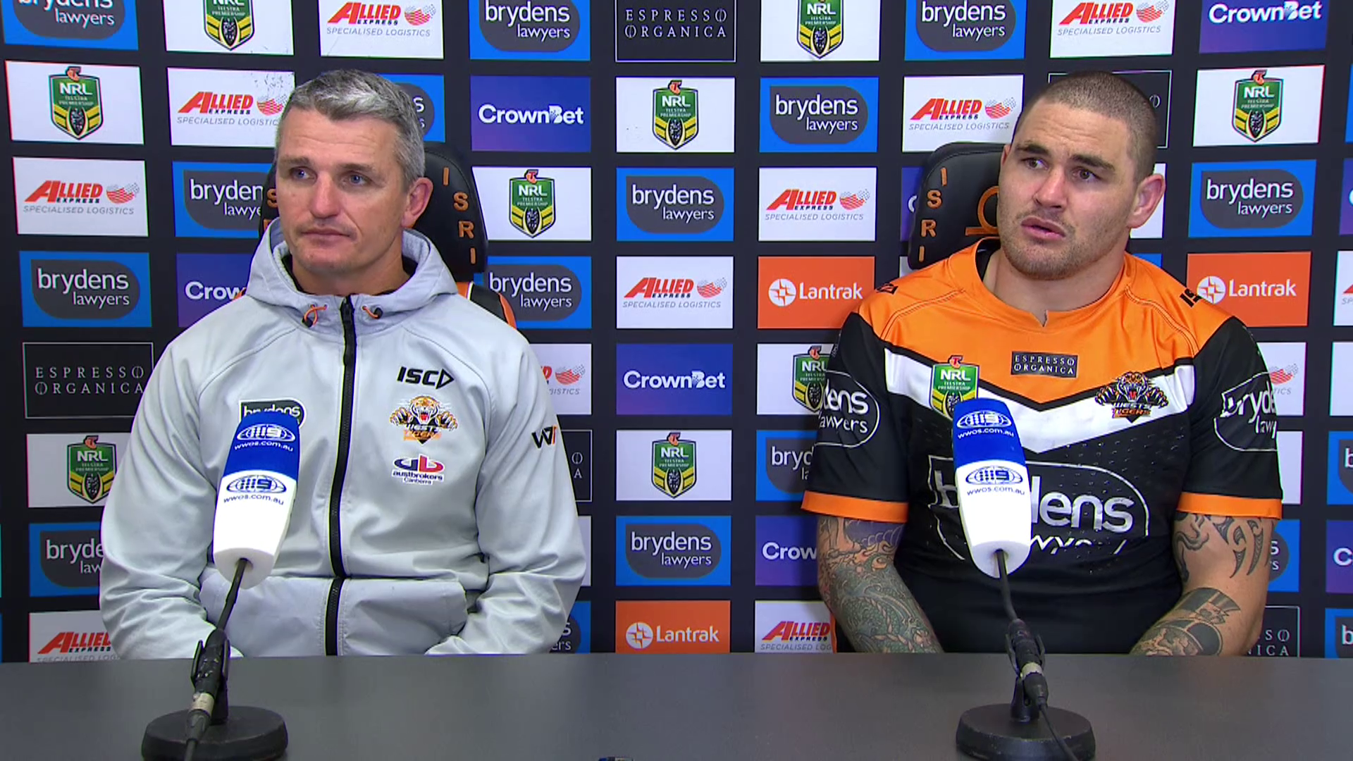 Wests Tigers press conference: Round 15, 2018