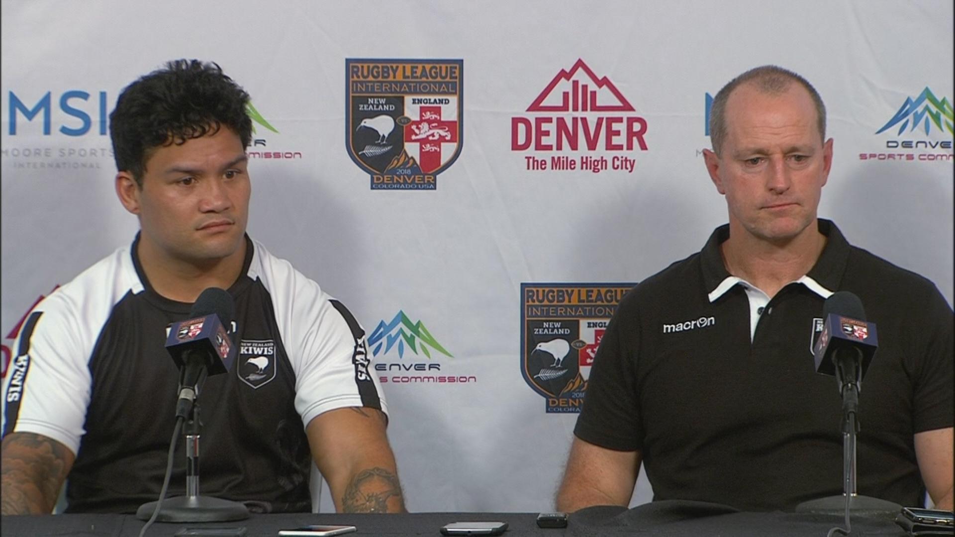 Kiwis press conference - Denver Test