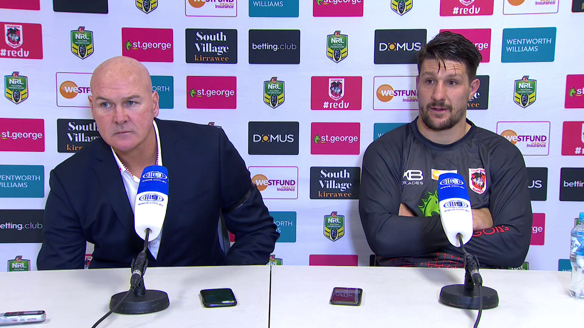 Dragons press conference - Round 16