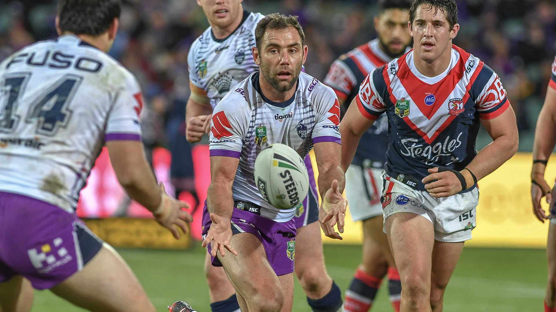 Extended Highlights: Roosters v Storm - Round 16, 2018