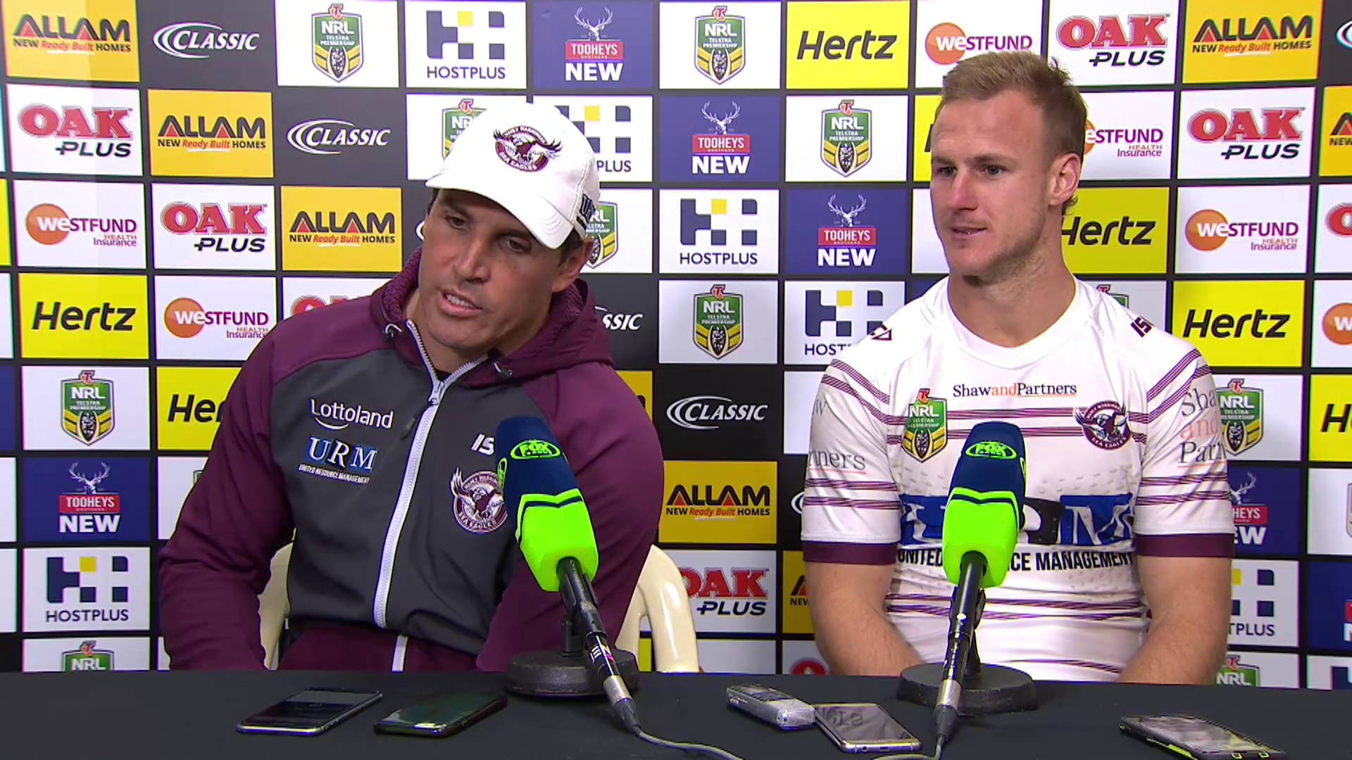 Sea Eagles press conference - Round 16