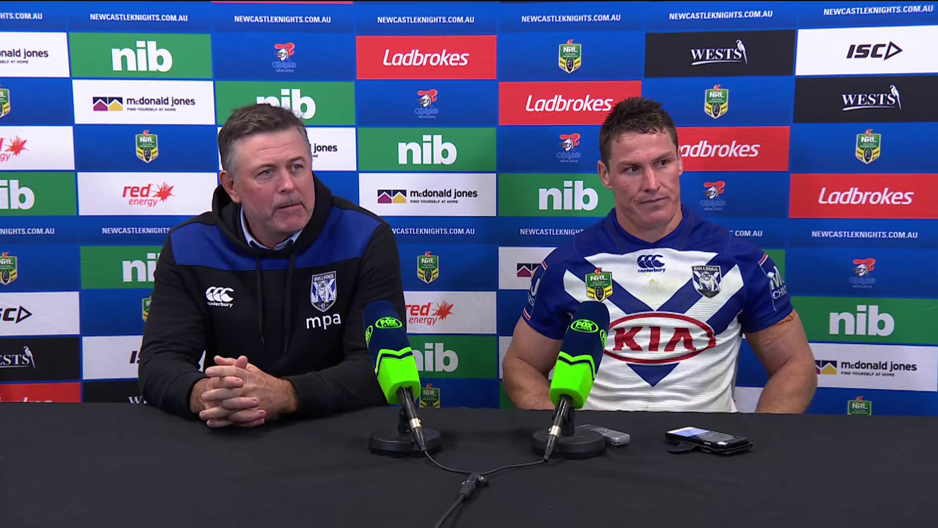 Bulldogs press conference - Round 16