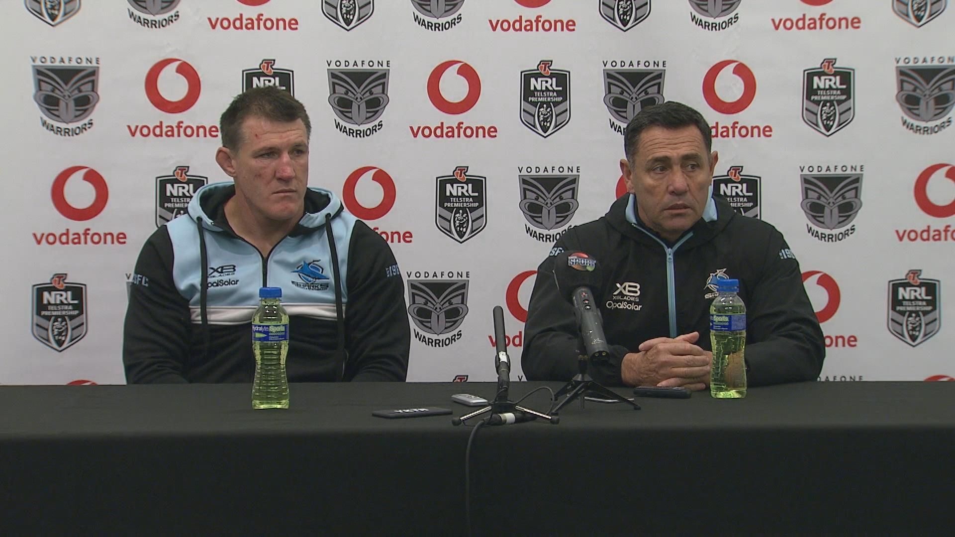Sharks press conference - Round 16