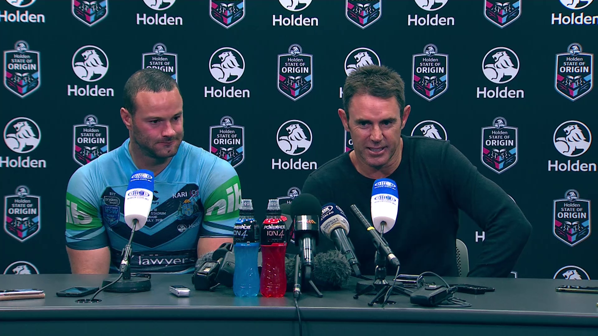 Blues press conference: State of Origin III