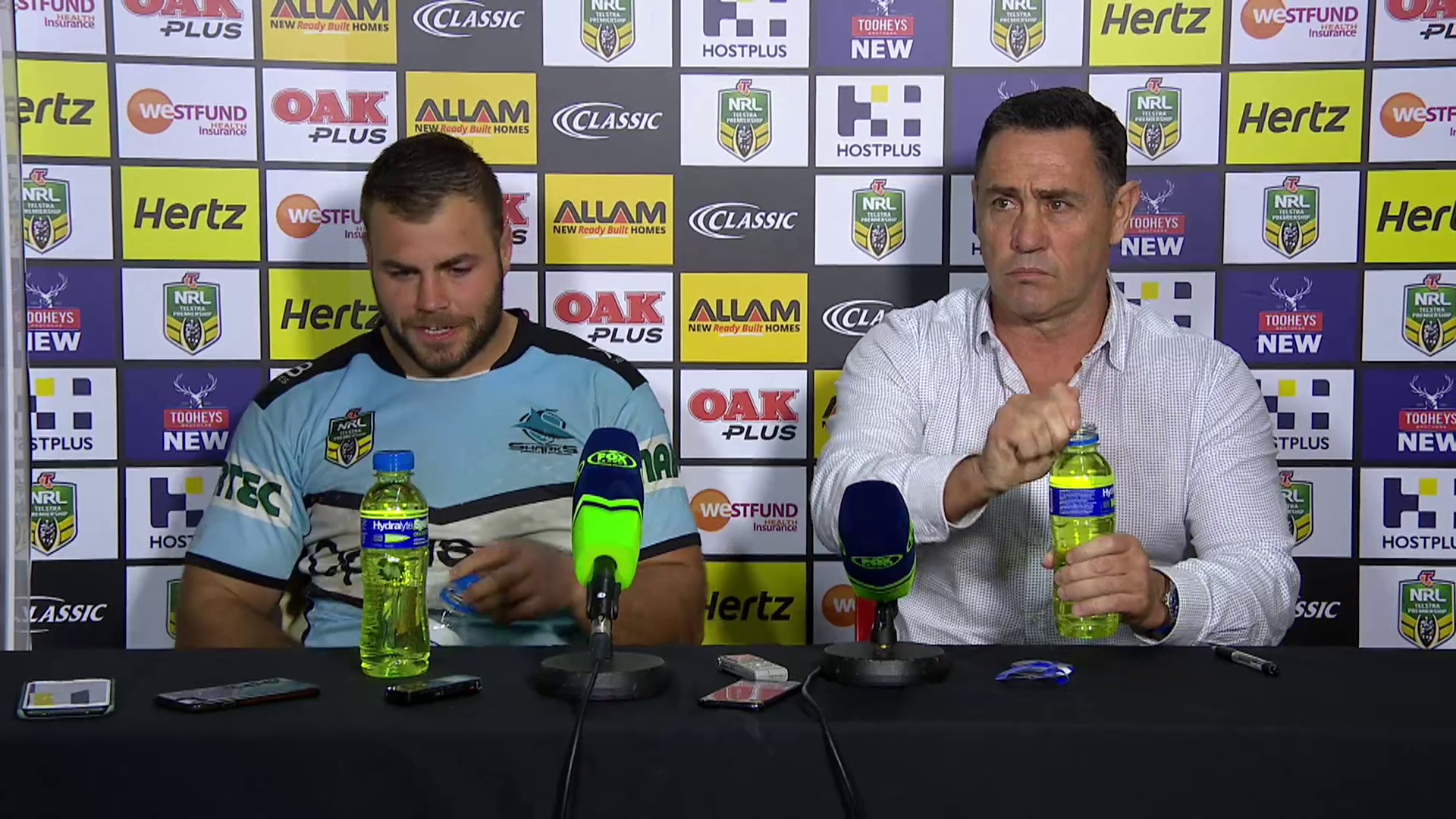 Sharks press conference - Round 18