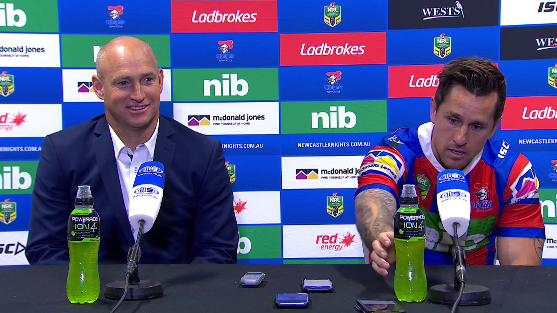 Knights press conference - Round 18