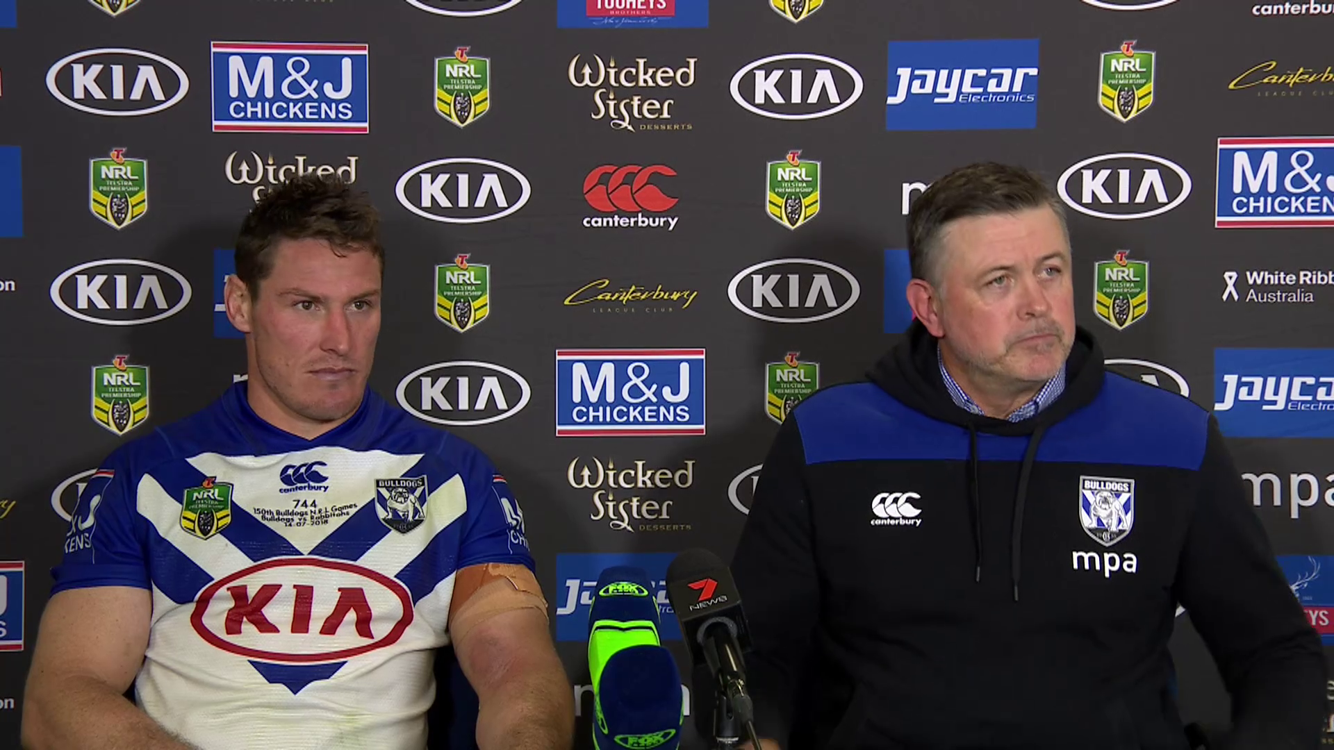 Bulldogs press conference – Round 18