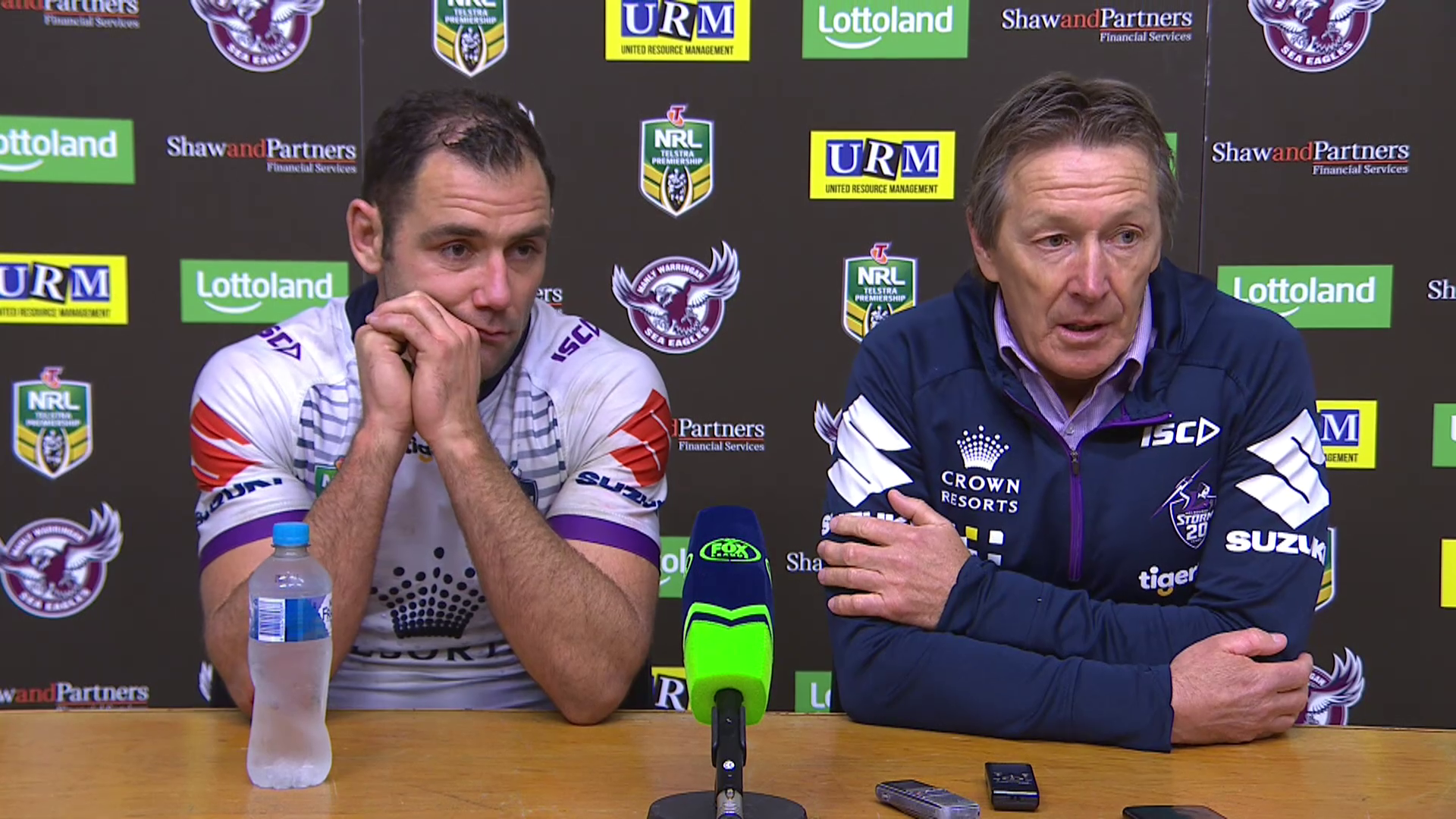 Storm press conference – Round 18