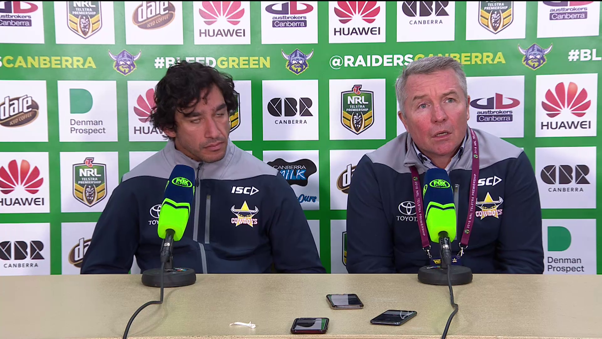 Cowboys press conference – Round 18