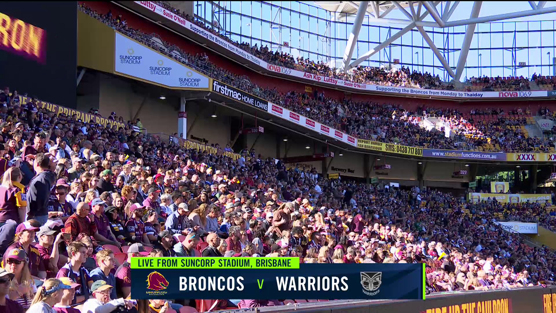 Full Match Replay: Broncos v Warriors - Round 18, 2018
