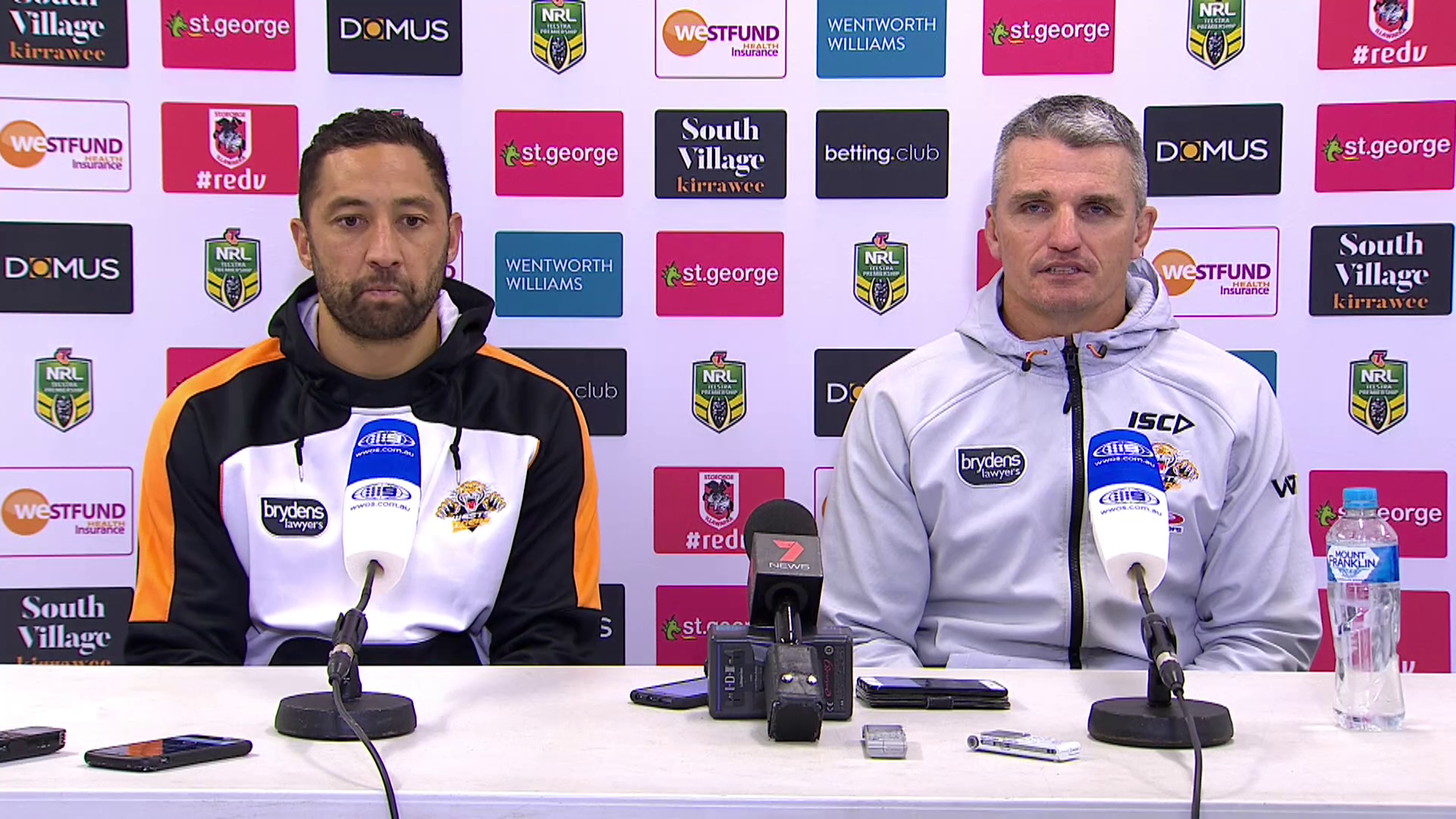 Wests Tigers press conference - Round 18