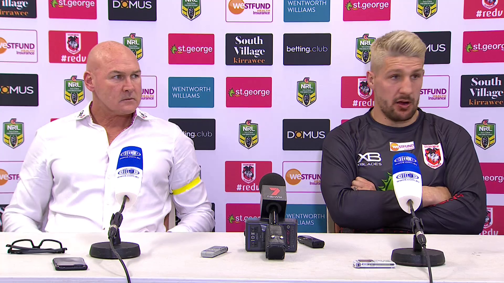 Dragons press conference - Round 18