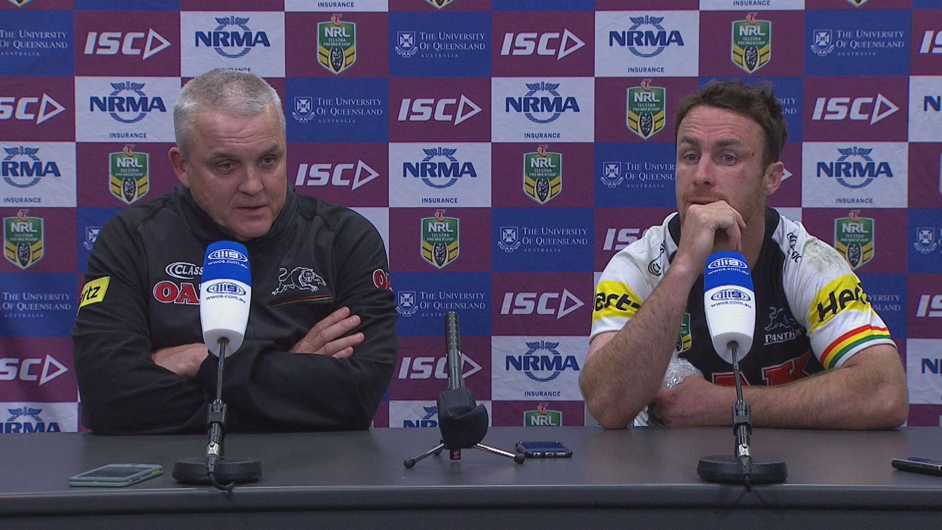 Panthers press conference - Round 19