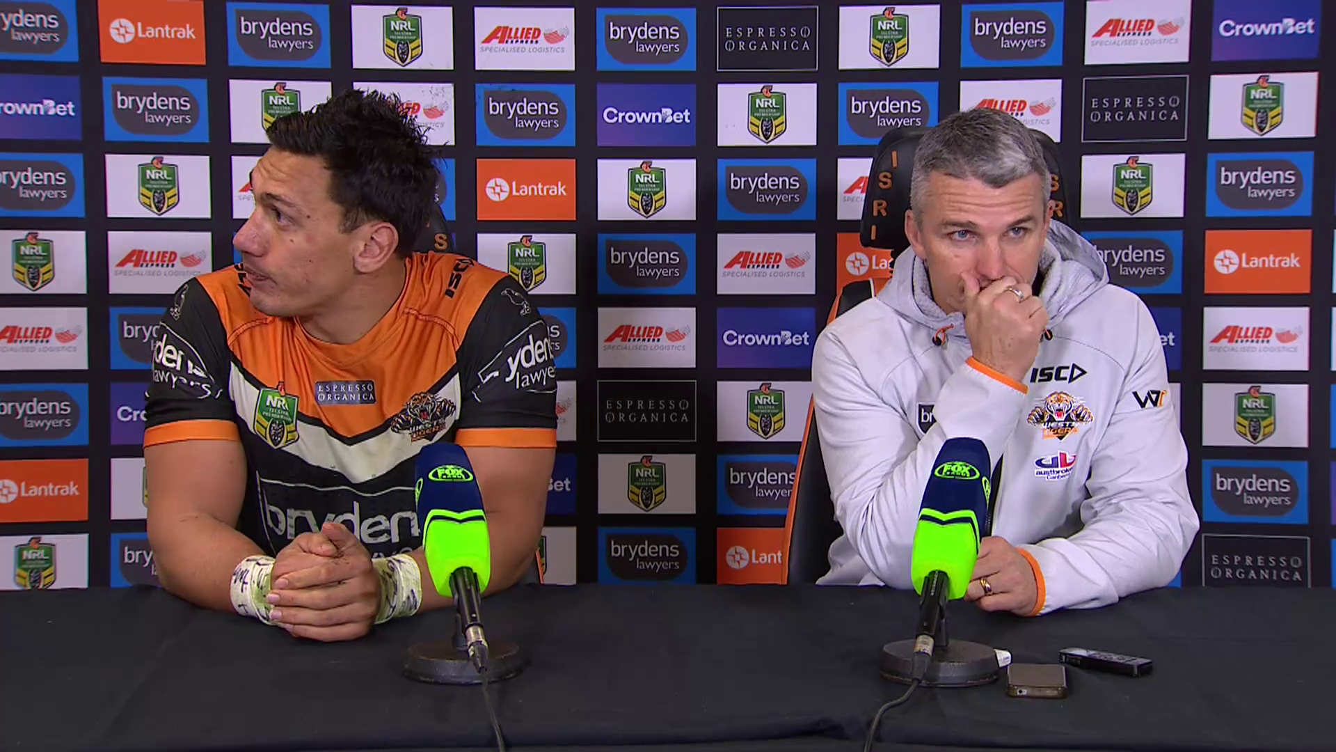 Wests Tigers press conference – Round 19
