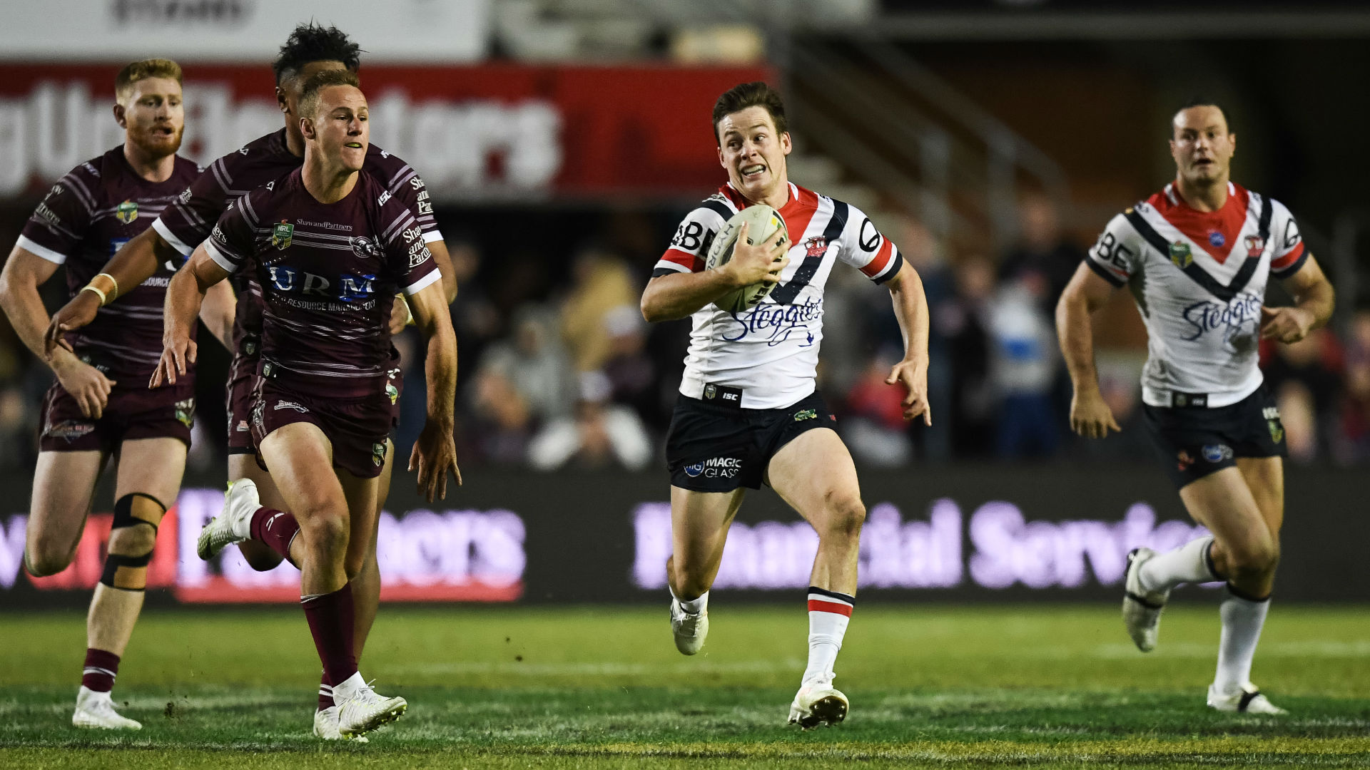 Extended Highlights: Sea Eagles v Roosters - Round 19, 2018