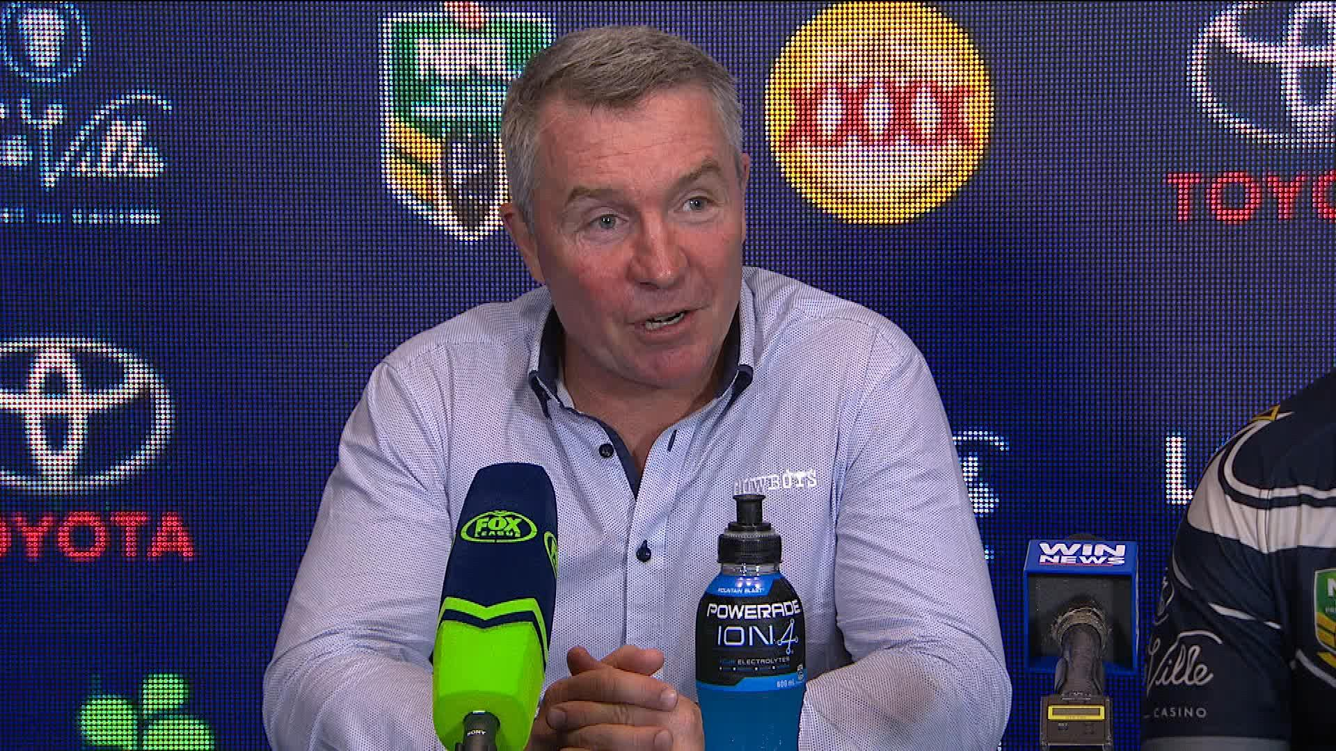 Cowboys press conference - Round 20
