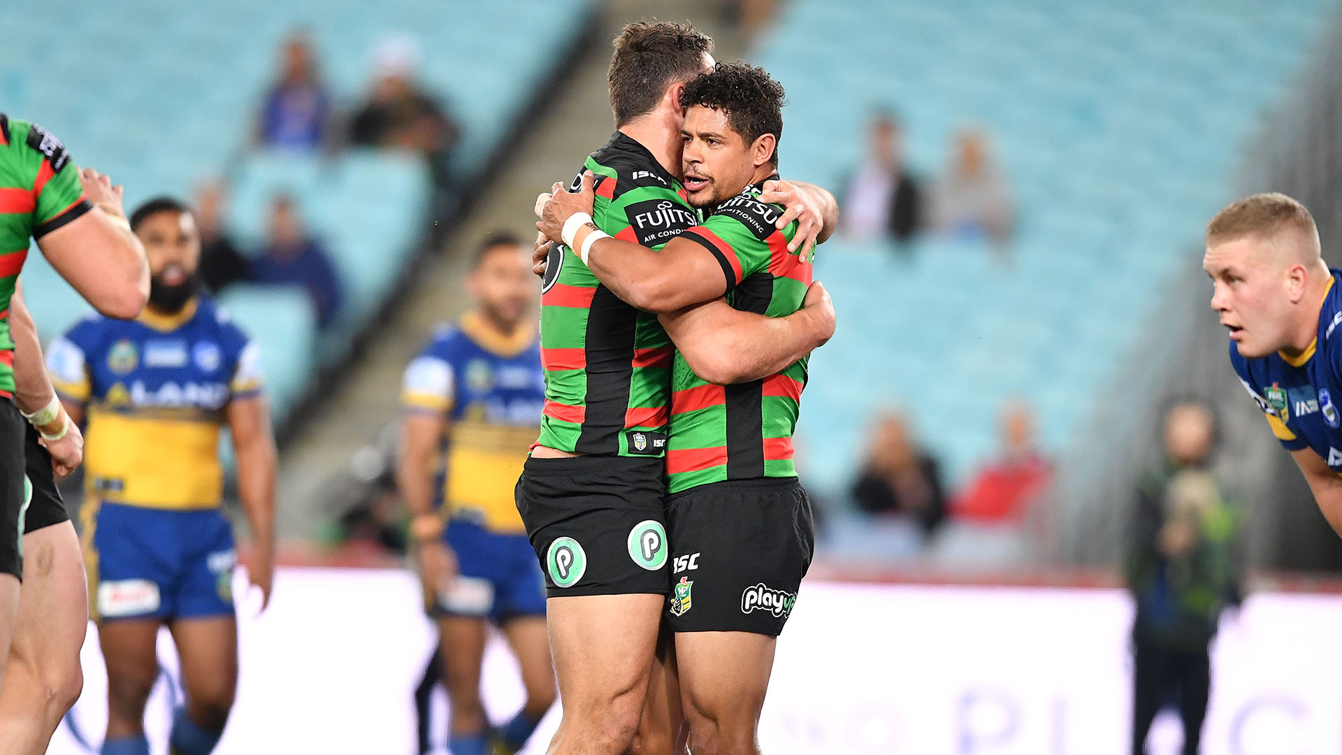 Extended Highlights: Rabbitohs v Eels - Round 20, 2018