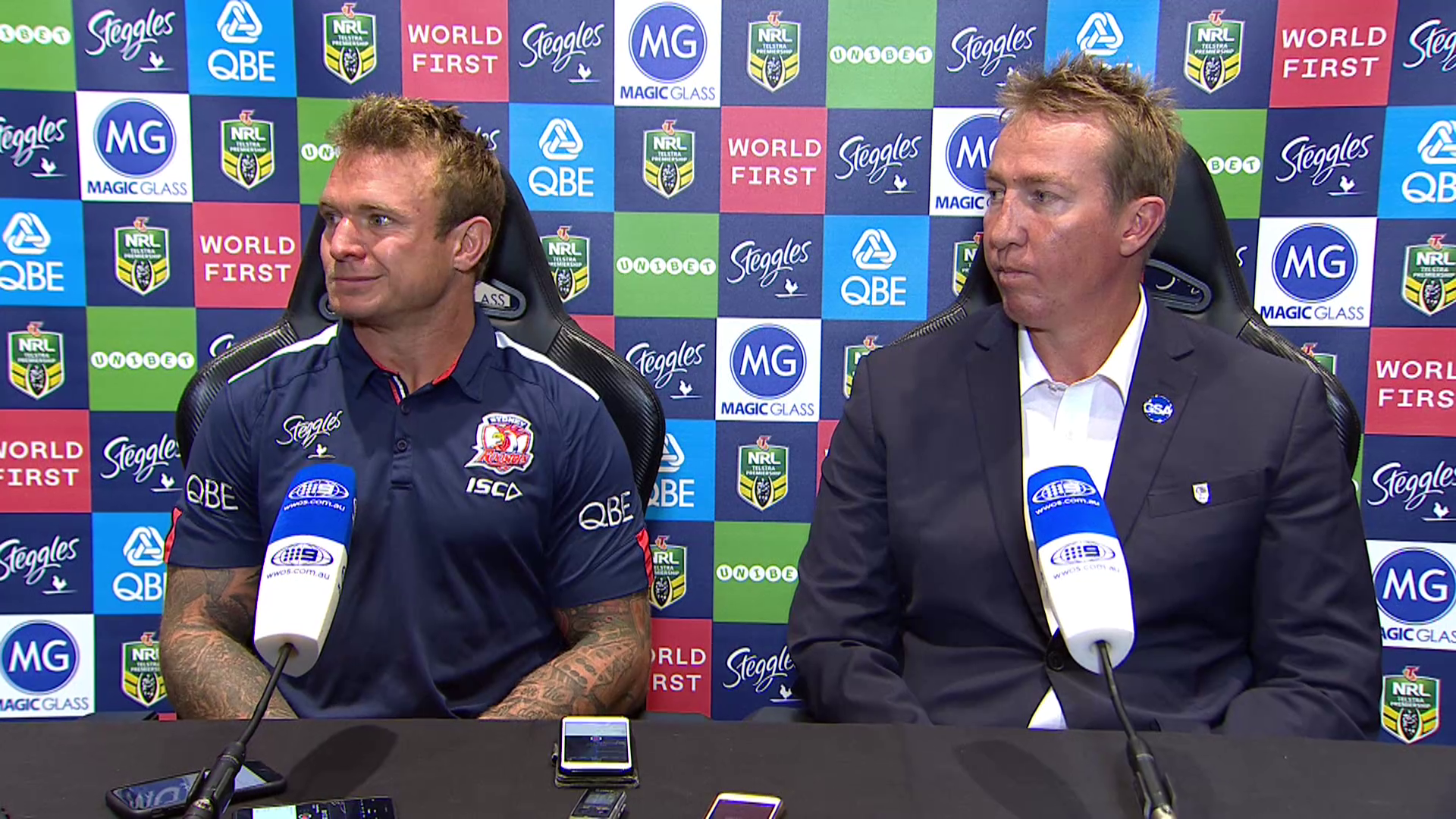 Roosters press conference: Round 20, 2018