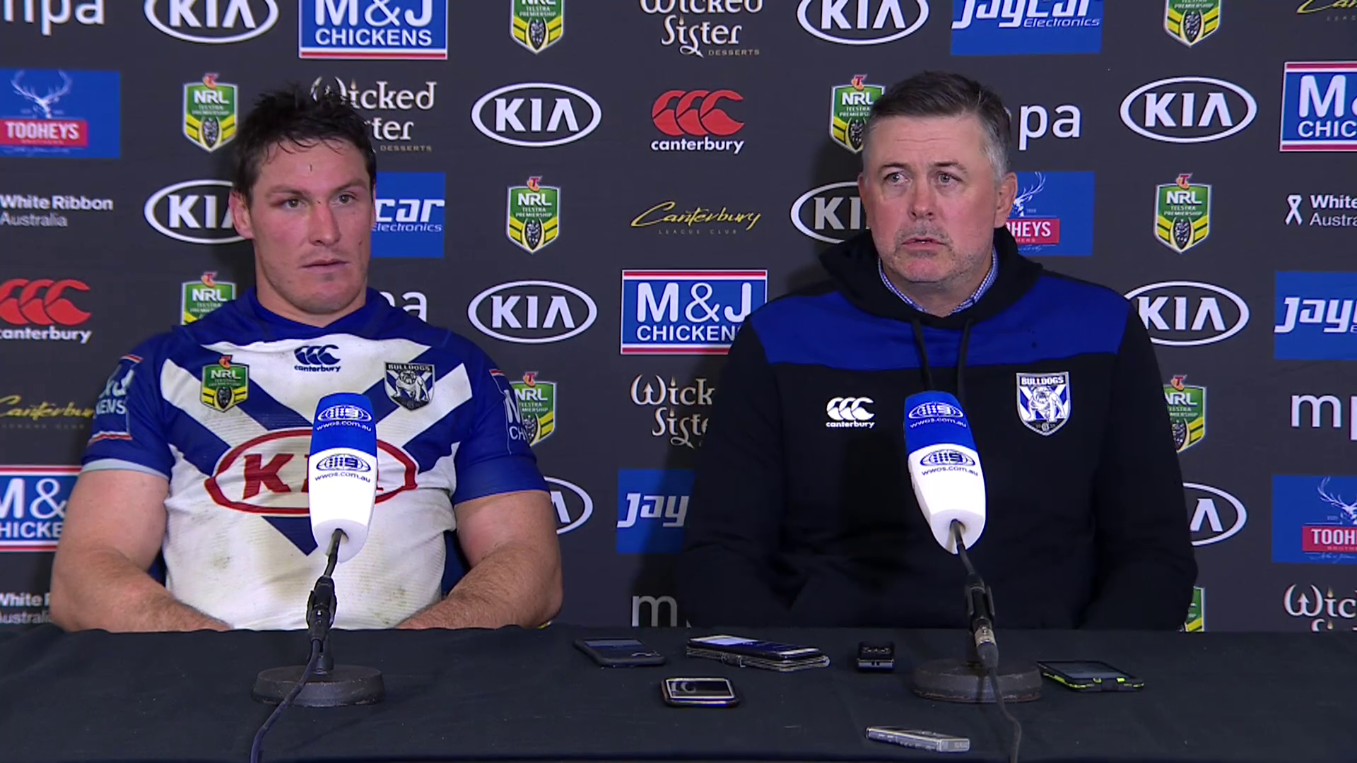 Bulldogs press conference - Round 21