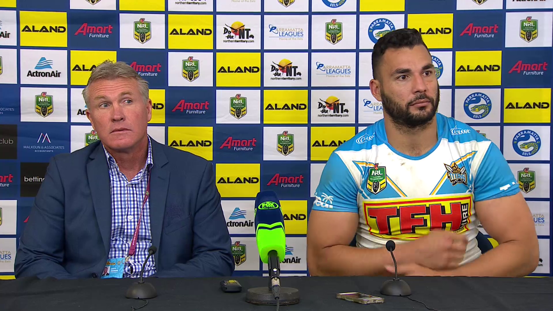 Titans press conference - Round 21