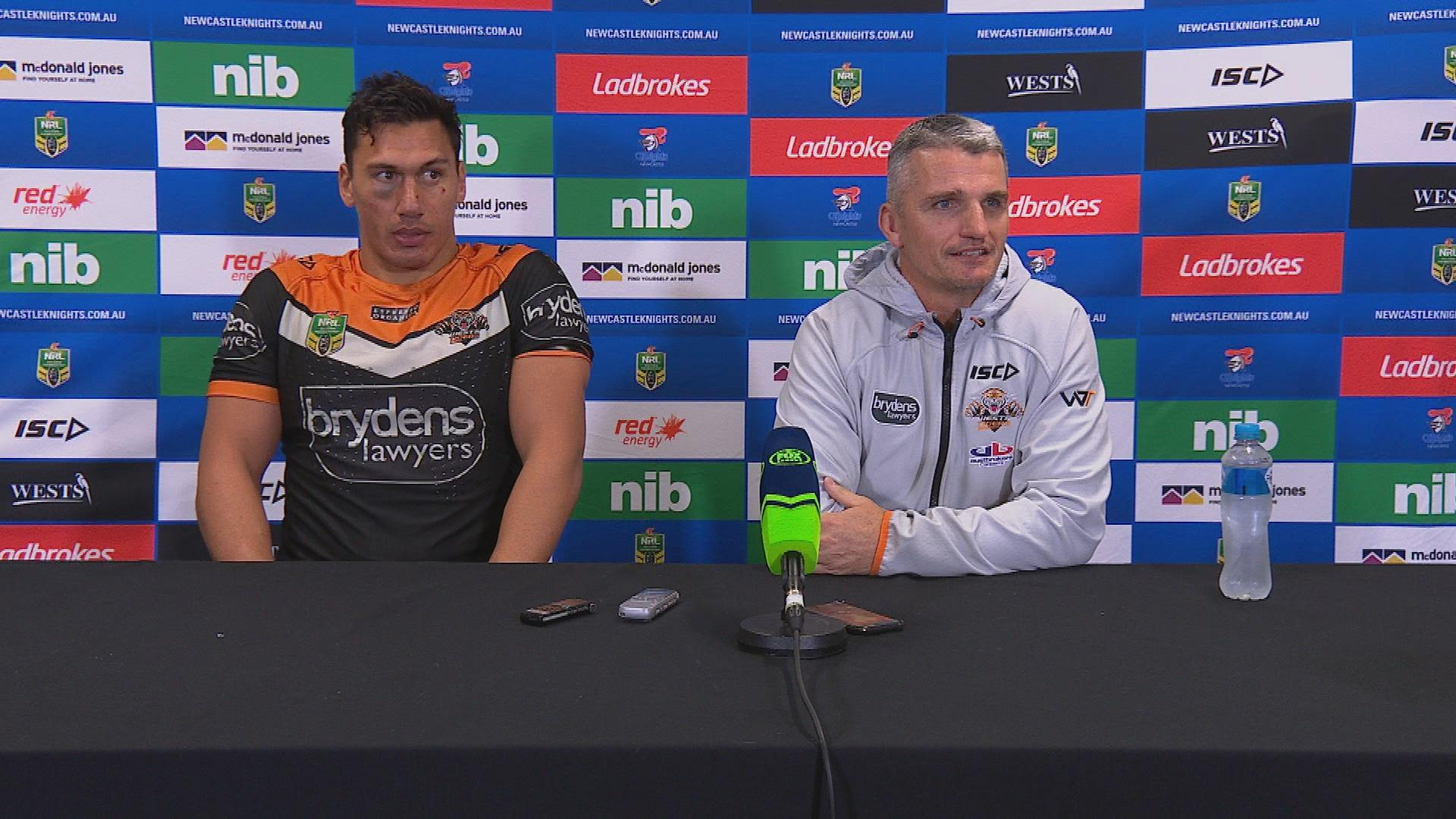 Wests Tigers press conference - Round 21