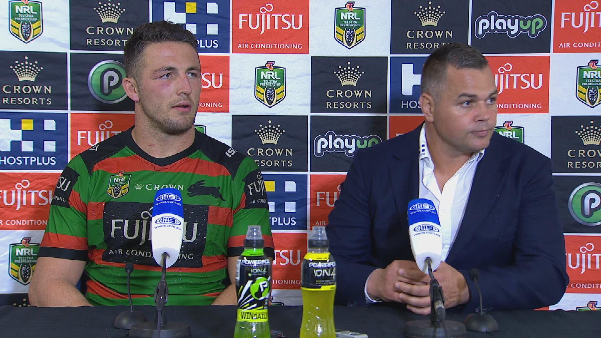 Rabbitohs press conference - Round 21